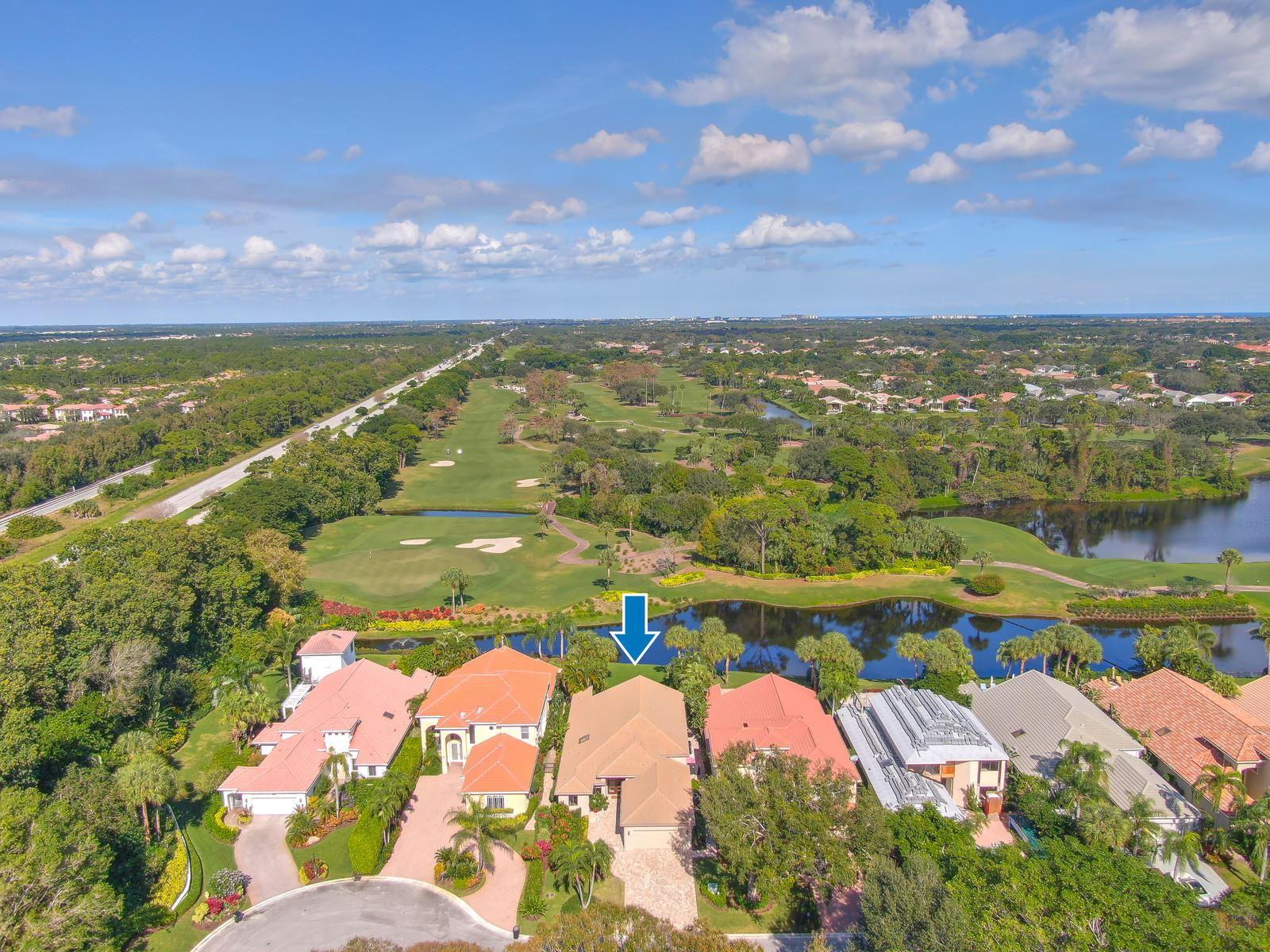 Photo of 3883 Toulouse Drive, Palm Beach Gardens, FL 33410 (MLS # RX-10590837)