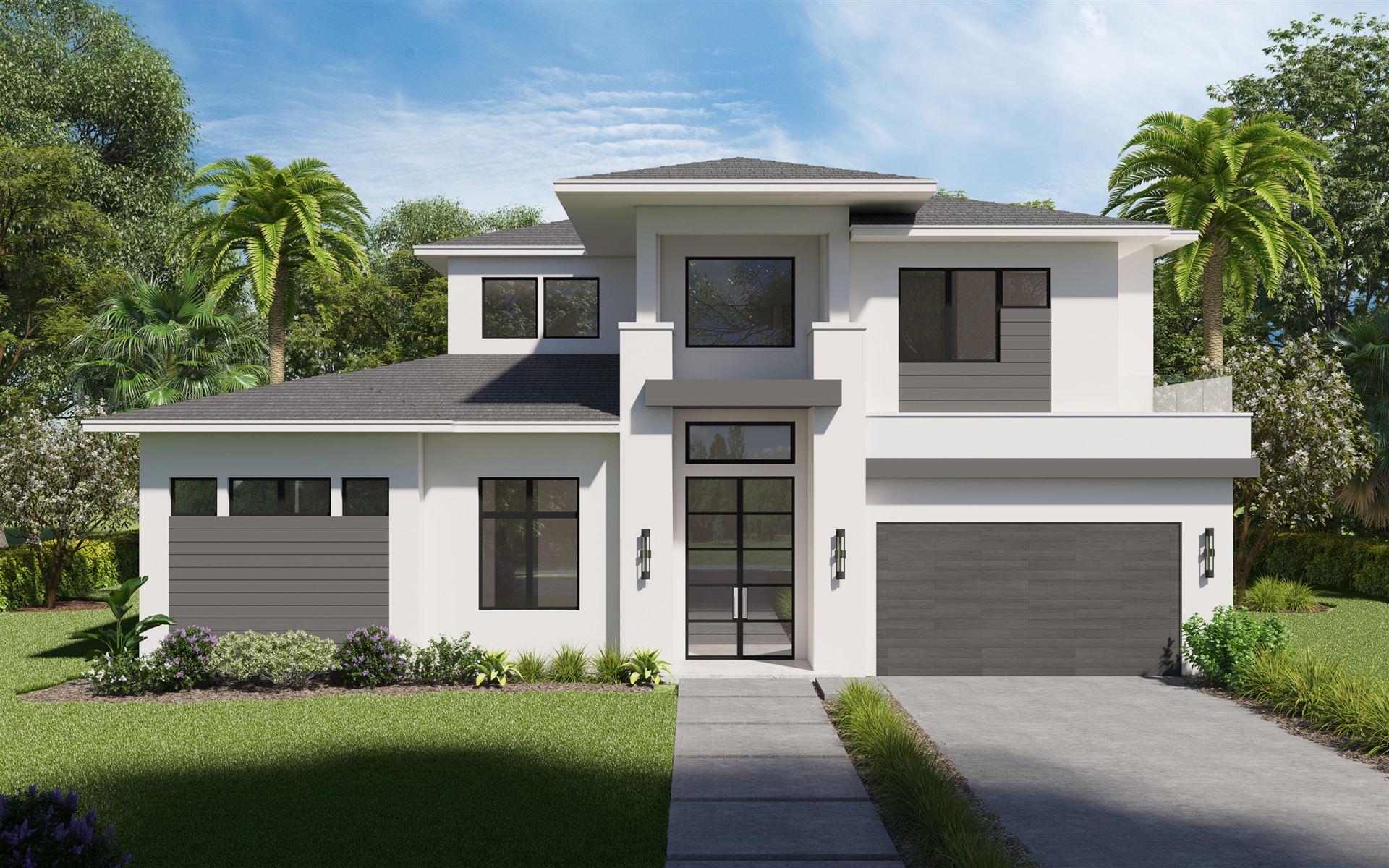 Photo of 3096 Blue Cypress Lane, Wellington, FL 33414 (MLS # RX-10716837)