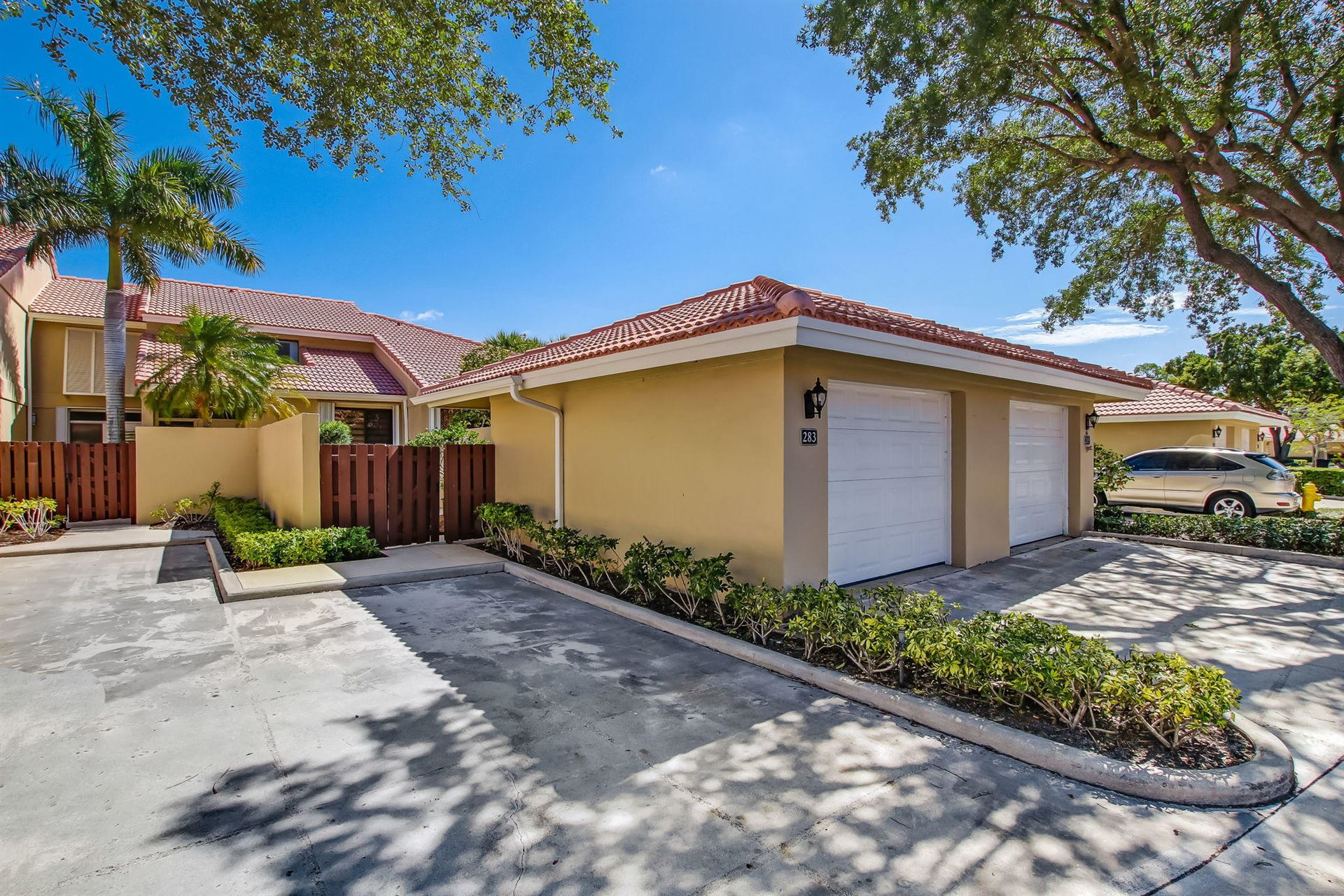 283 Old Meadow Way #283, Palm Beach Gardens, FL 33418 - MLS#: RX-10722837