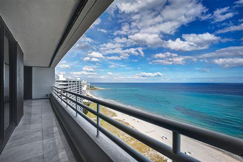 Photo of 1500 S Ocean Boulevard #1605, Boca Raton, FL 33432 (MLS # RX-10592838)