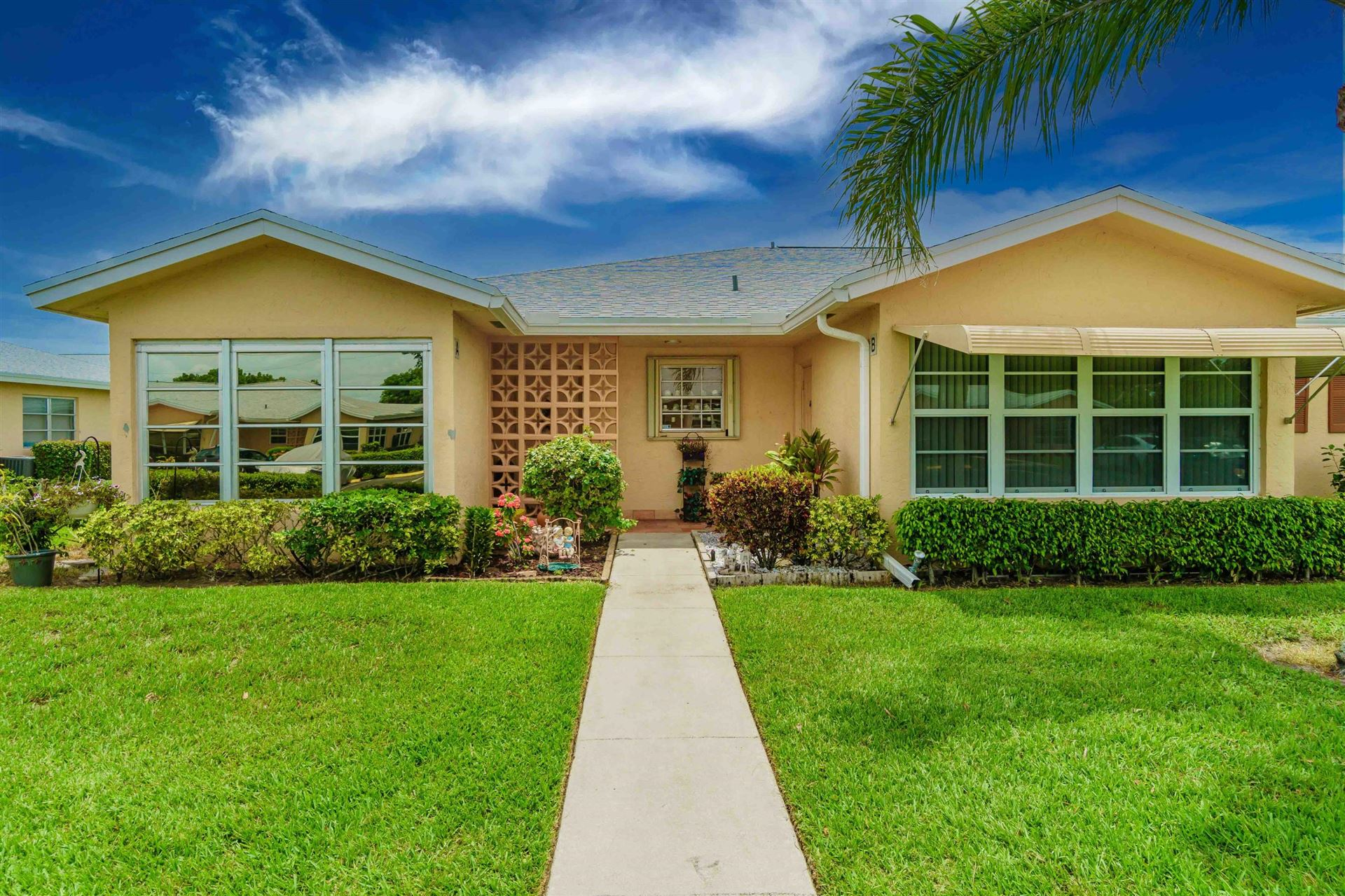 14569 Canalview Drive #B, Delray Beach, FL 33484 - #: RX-10729838