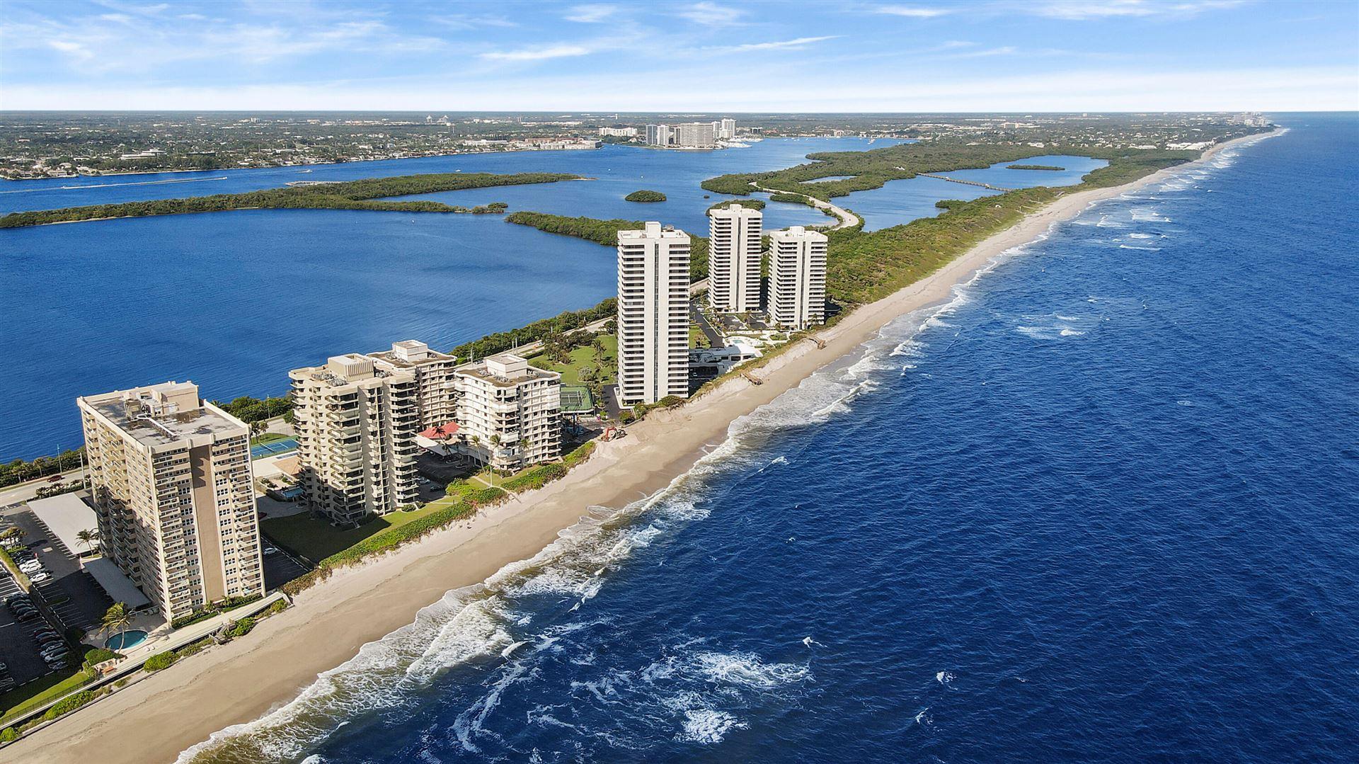 Photo for 5440 N Ocean Drive #507, Singer Island, FL 33404 (MLS # RX-10740838)