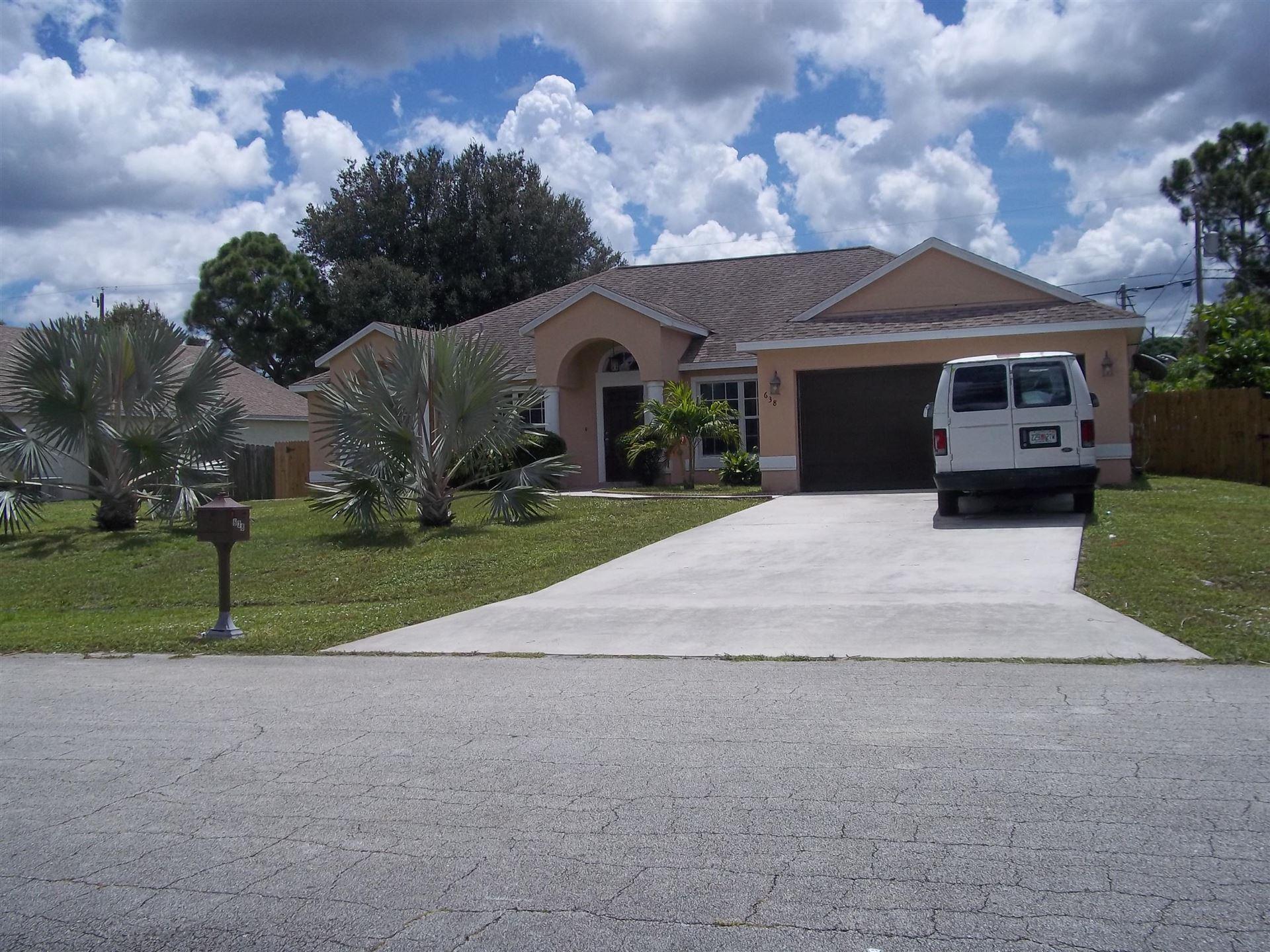 638 SW Post Terrace, Port Saint Lucie, FL 34953 - #: RX-10647839