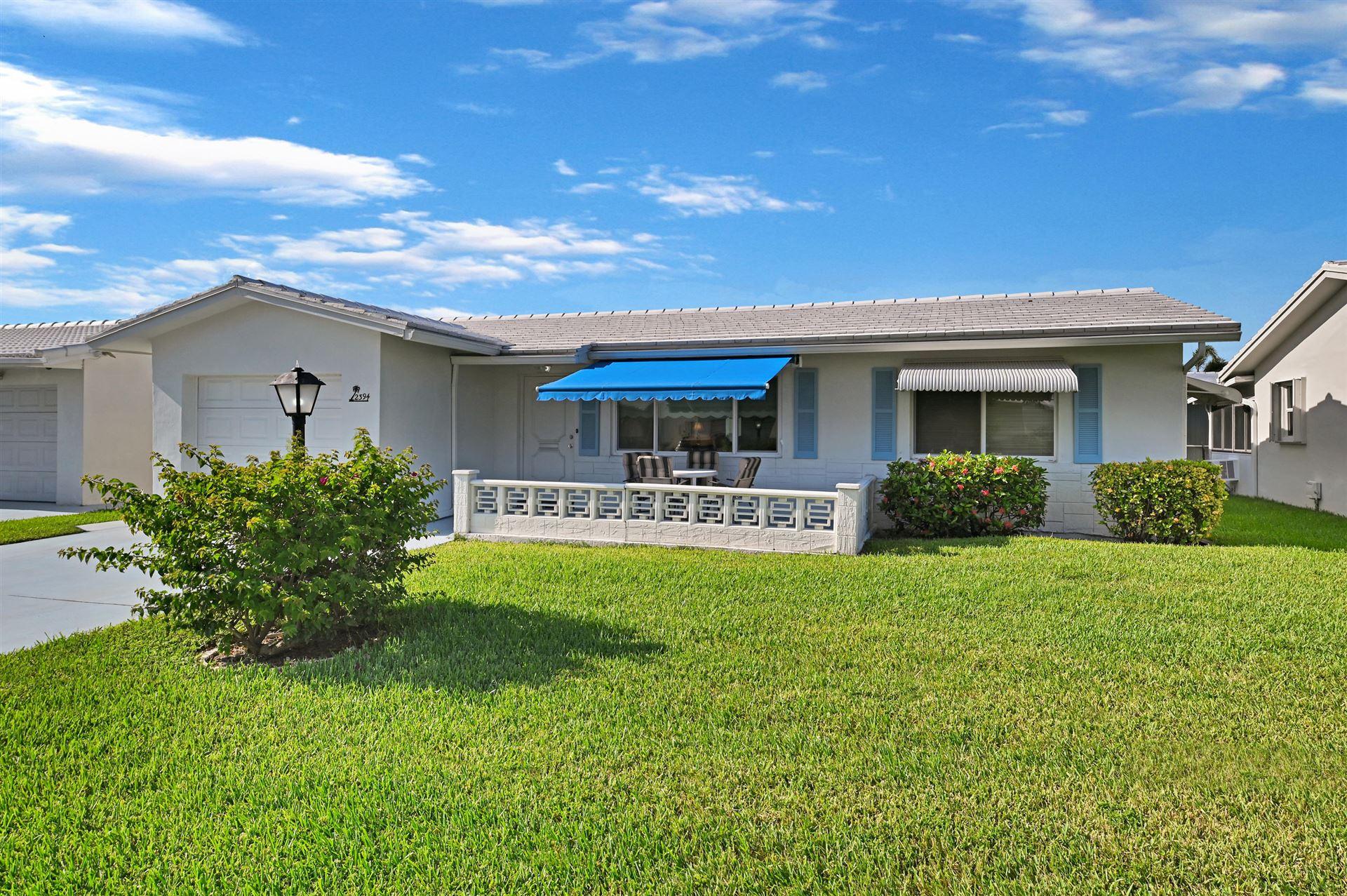 2394 SW 13th Avenue, Boynton Beach, FL 33426 - MLS#: RX-10730839