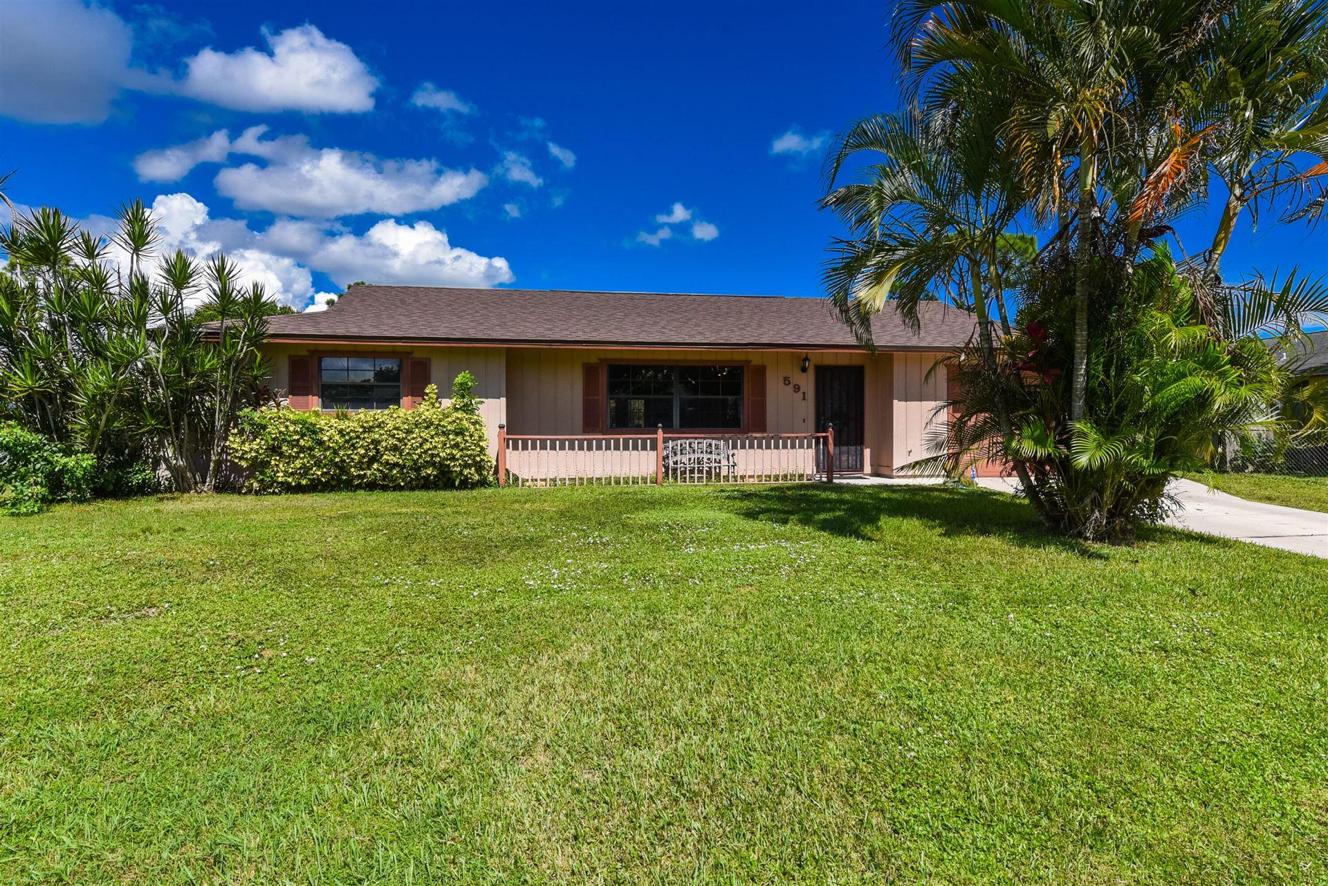 591 SE Voltair Terrace, Port Saint Lucie, FL 34953 - MLS#: RX-10748839