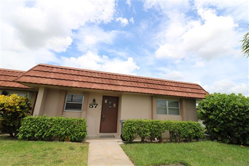 Photo of 5725 Fernley Drive E #57, West Palm Beach, FL 33415 (MLS # RX-10735843)