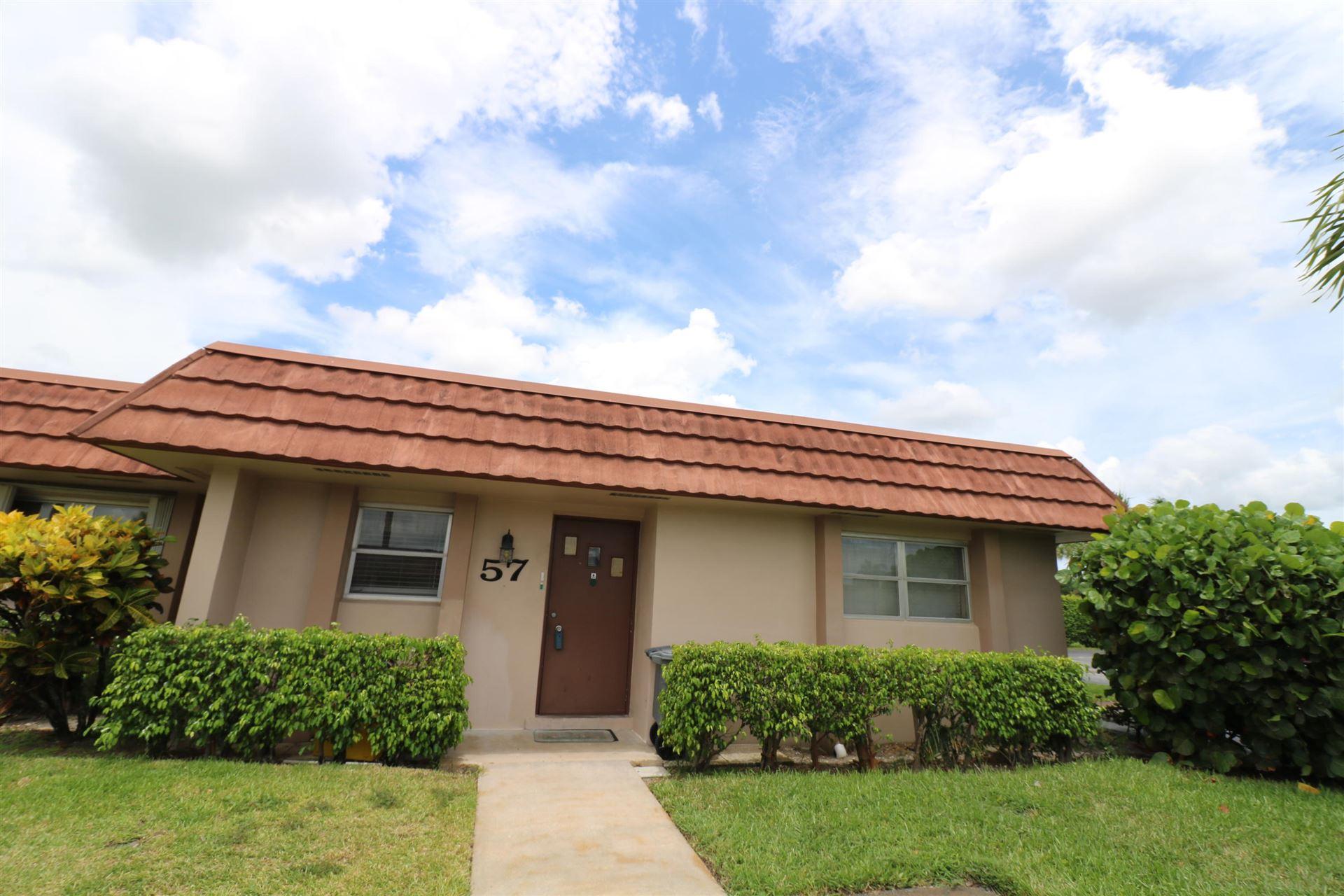 5725 Fernley Drive E #57, West Palm Beach, FL 33415 - #: RX-10735843