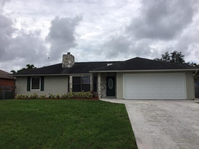 630 SW Nichols Terrace, Port Saint Lucie, FL 34953 - #: RX-10630845