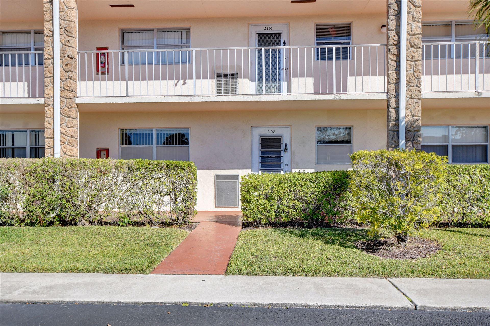 9851 Sandalfoot 208 Boulevard #208, Boca Raton, FL 33428 - #: RX-10689845