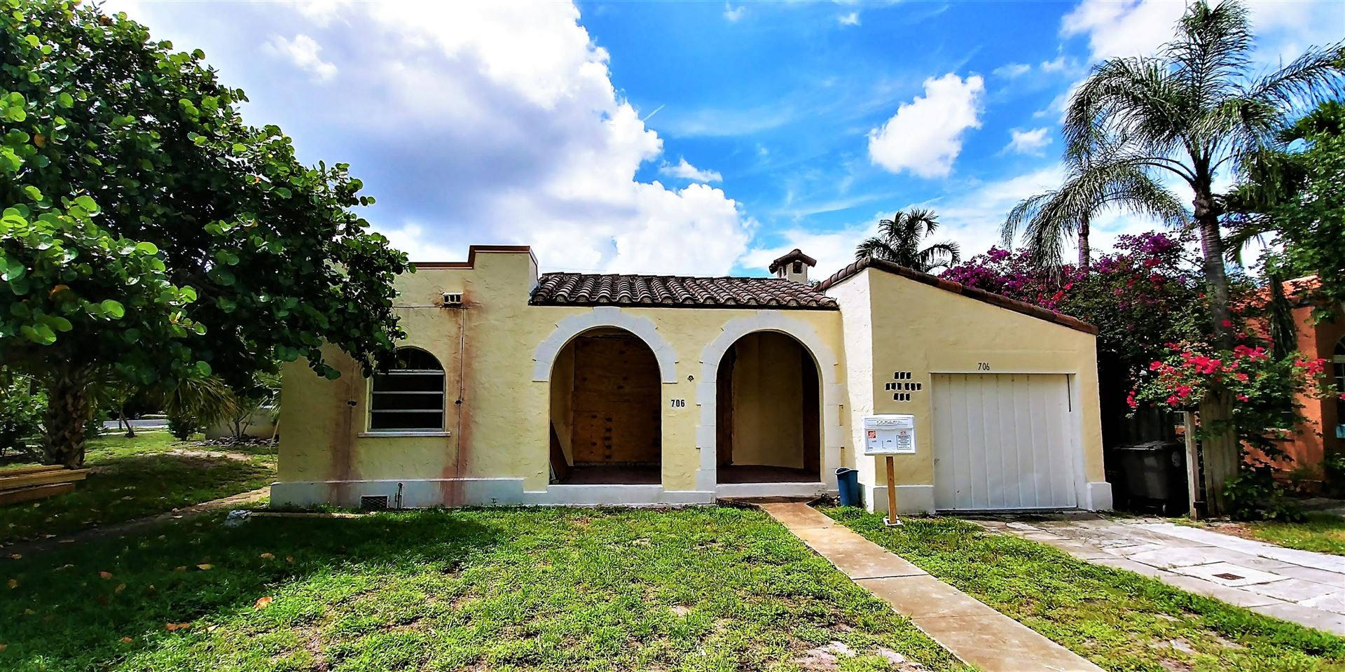 706 Sunset Road, West Palm Beach, FL 33401 - #: RX-10635846