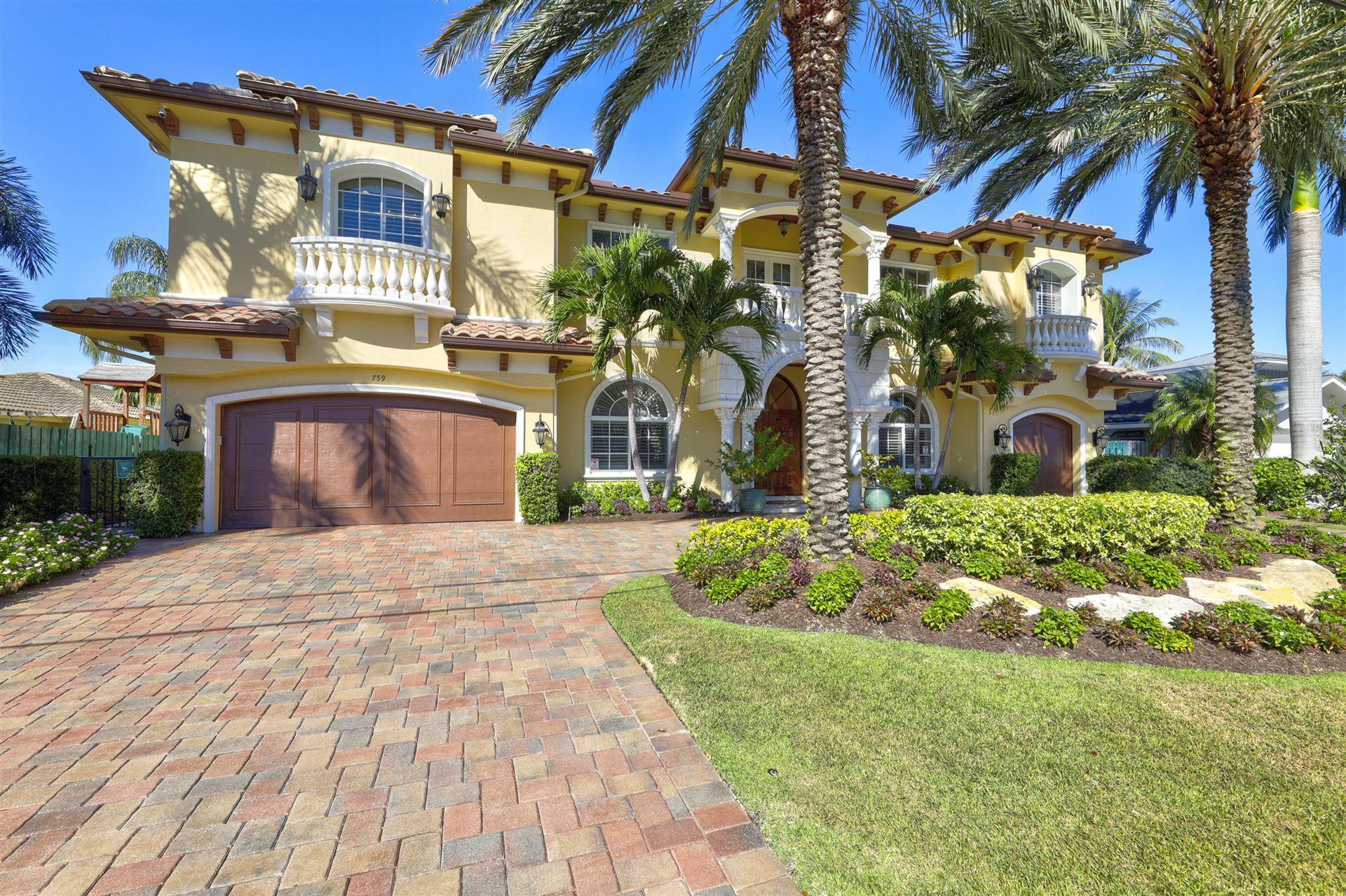 759 Glouchester Street, Boca Raton, FL 33487 - MLS#: RX-10598850