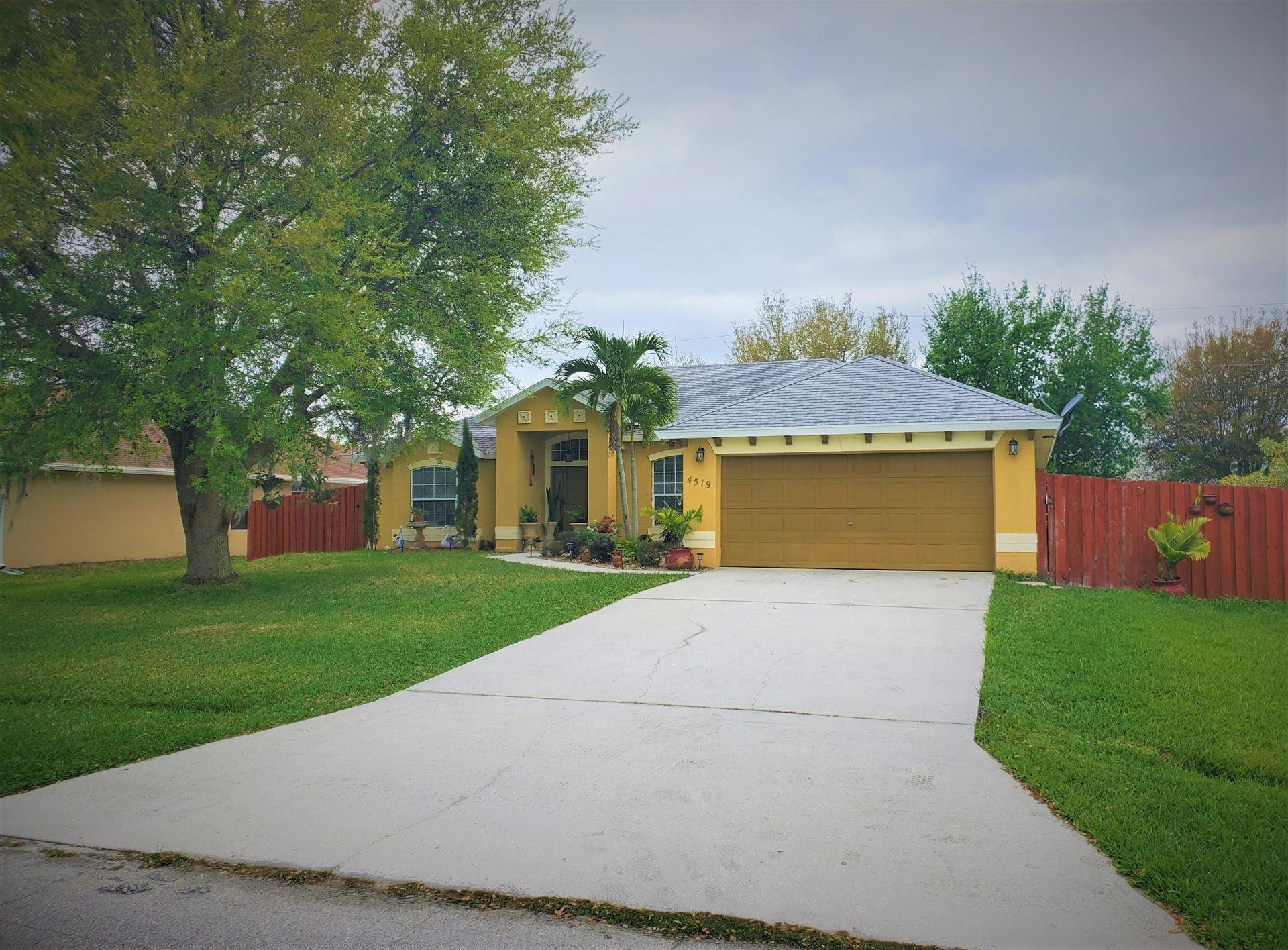 4519 NW Glazbrook Street, Port Saint Lucie, FL 34983 - #: RX-10697852
