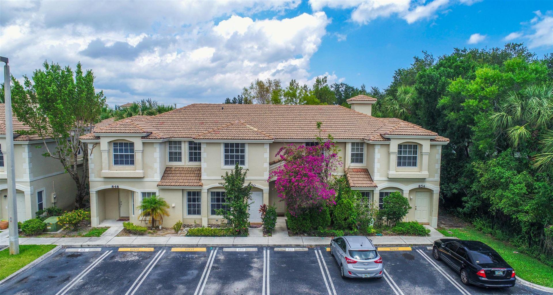852 Summit Lake Drive, West Palm Beach, FL 33406 - MLS#: RX-10709852