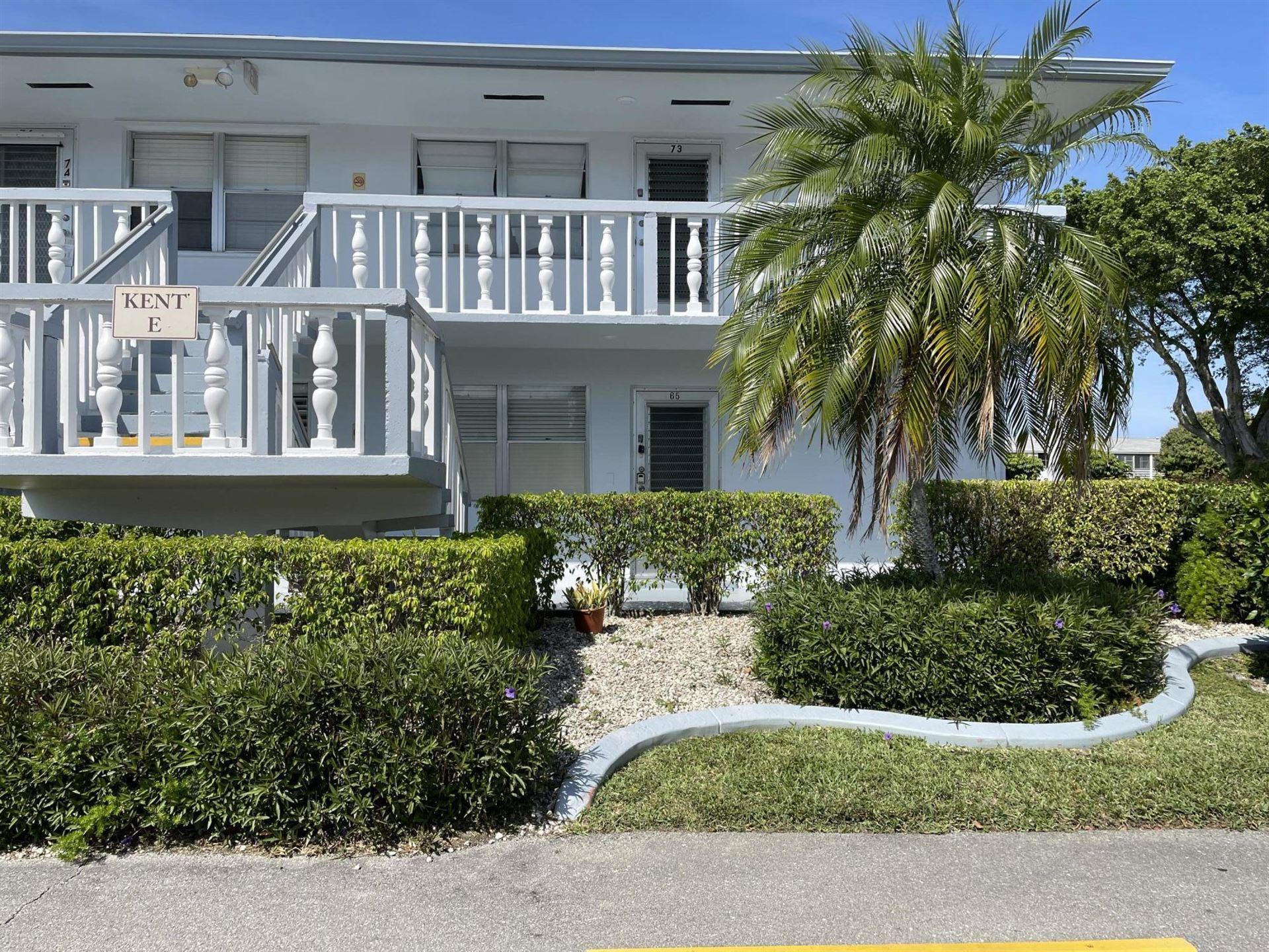 65 Kent E, West Palm Beach, FL 33417 - MLS#: RX-10700853