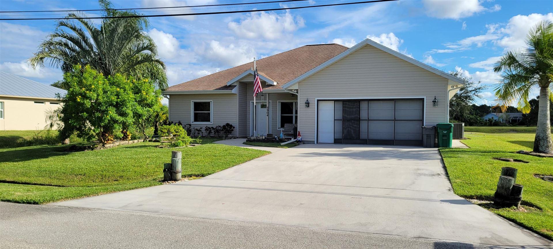 5904 NW Favian Avenue, Port Saint Lucie, FL 34986 - MLS#: RX-10748853