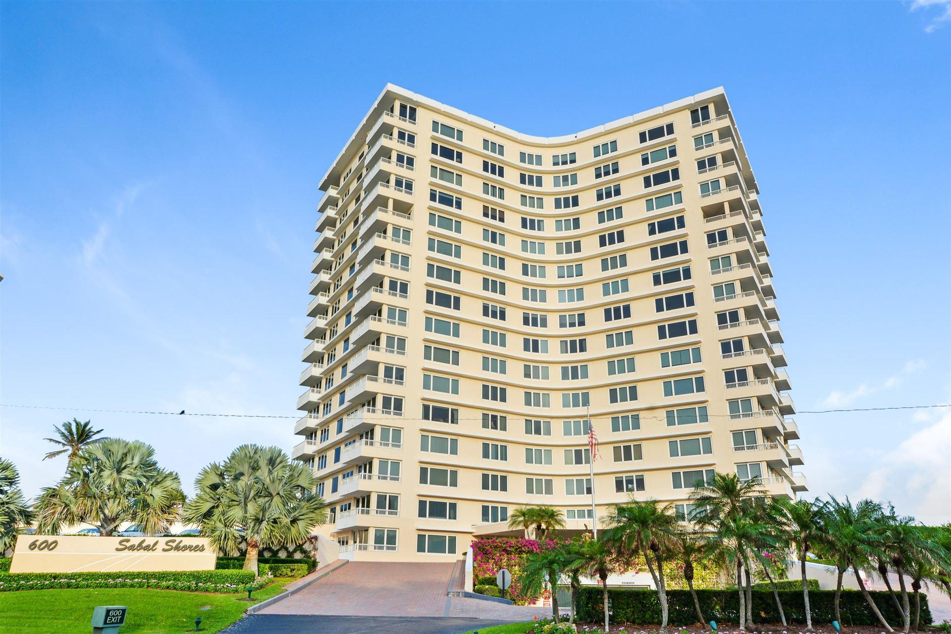 600 S Ocean Boulevard #1602, Boca Raton, FL 33432 - #: RX-10580854
