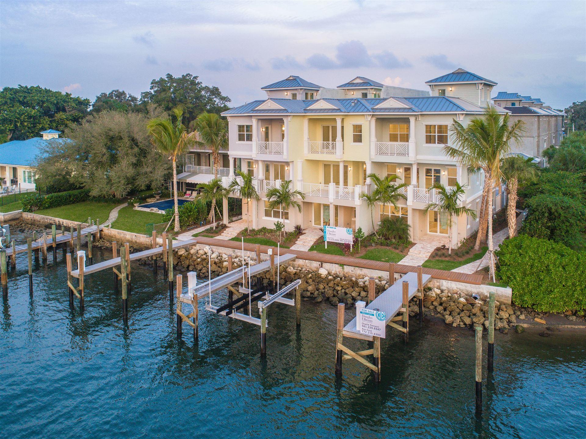 Photo for 1057 Harbor Villas Drive #1, North Palm Beach, FL 33408 (MLS # RX-10323855)