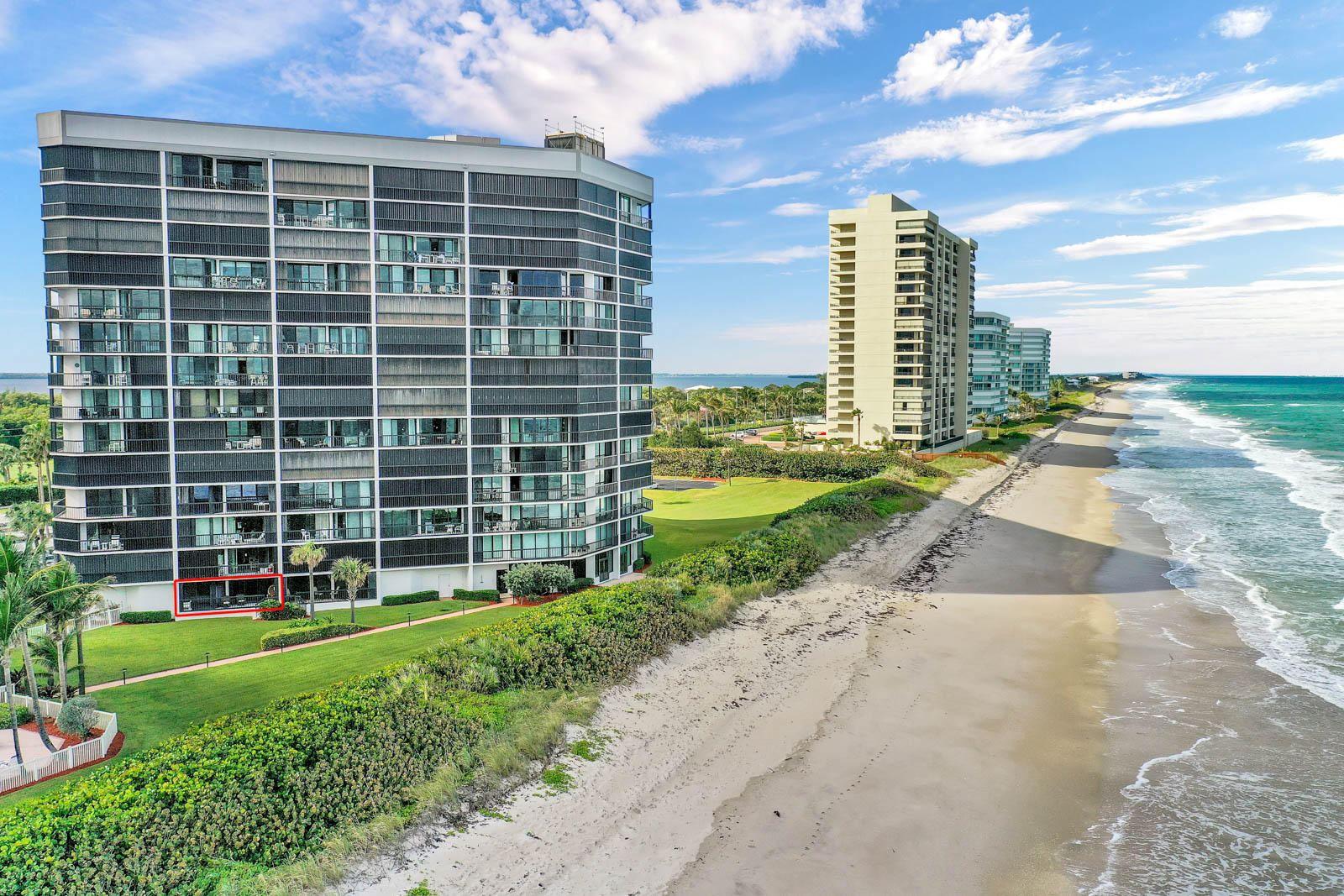 Photo of 8800 S Ocean Drive #109, Jensen Beach, FL 34957 (MLS # RX-10675855)