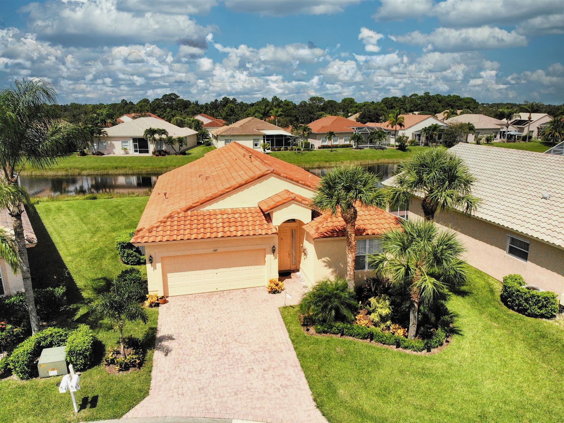 Photo of 347 NW Sunview Way, Port Saint Lucie, FL 34986 (MLS # RX-10740855)