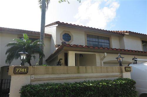 Photo of 7743 La Mirada Drive, Boca Raton, FL 33433 (MLS # RX-10657858)