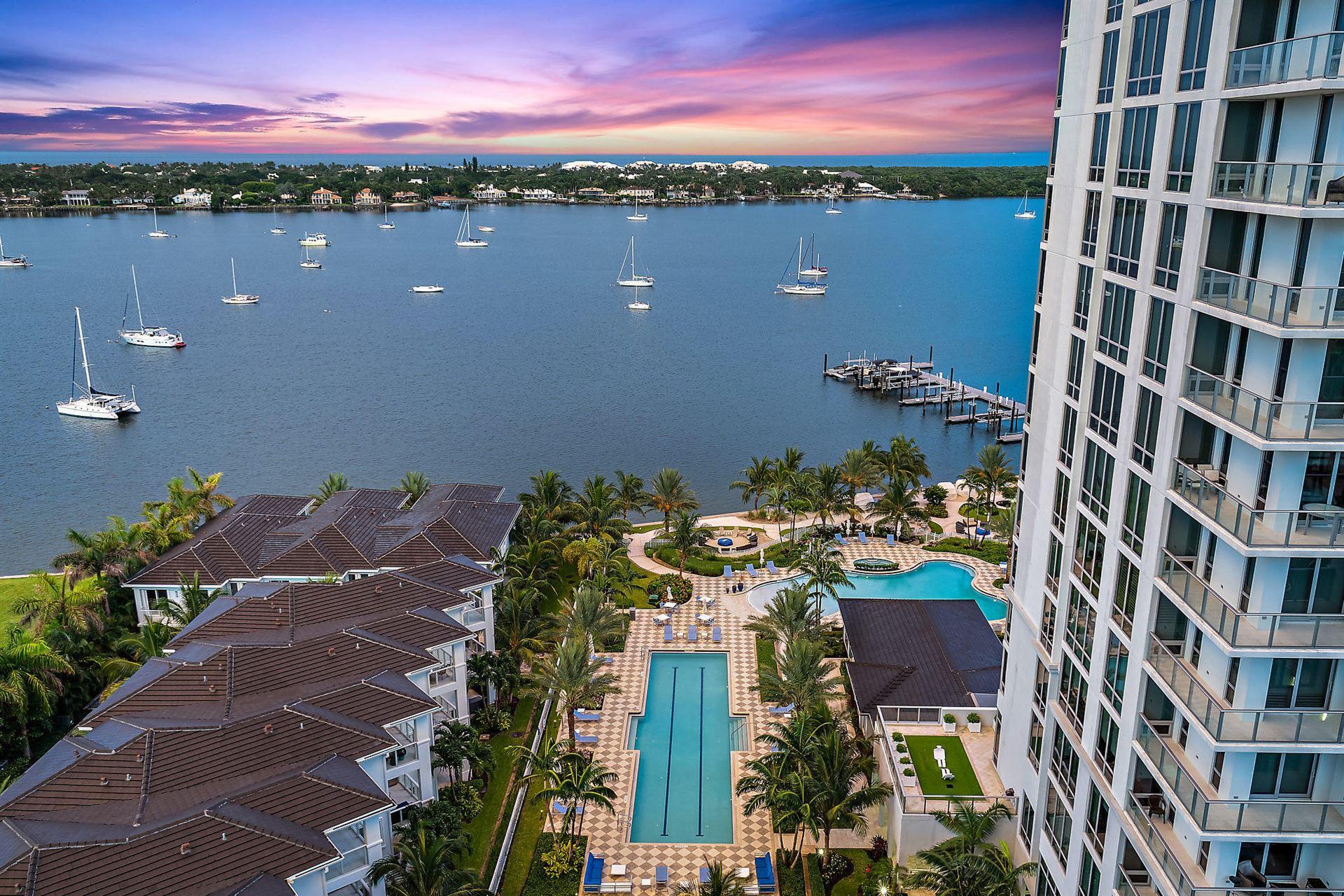 1 Water Club Way #1403, North Palm Beach, FL 33408 - #: RX-10637861