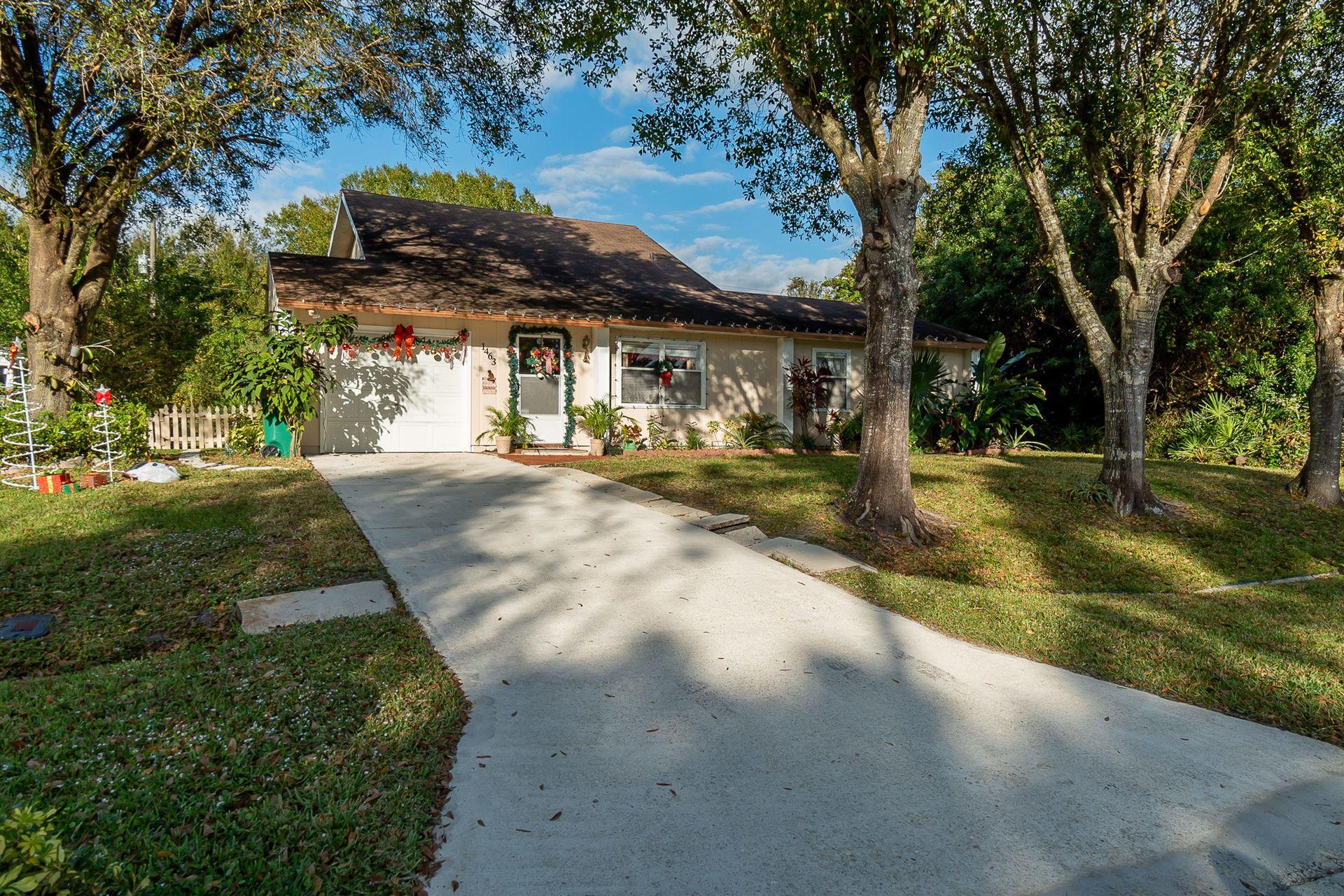 1463 SW Leisure Lane, Port Saint Lucie, FL 34953 - #: RX-10679861