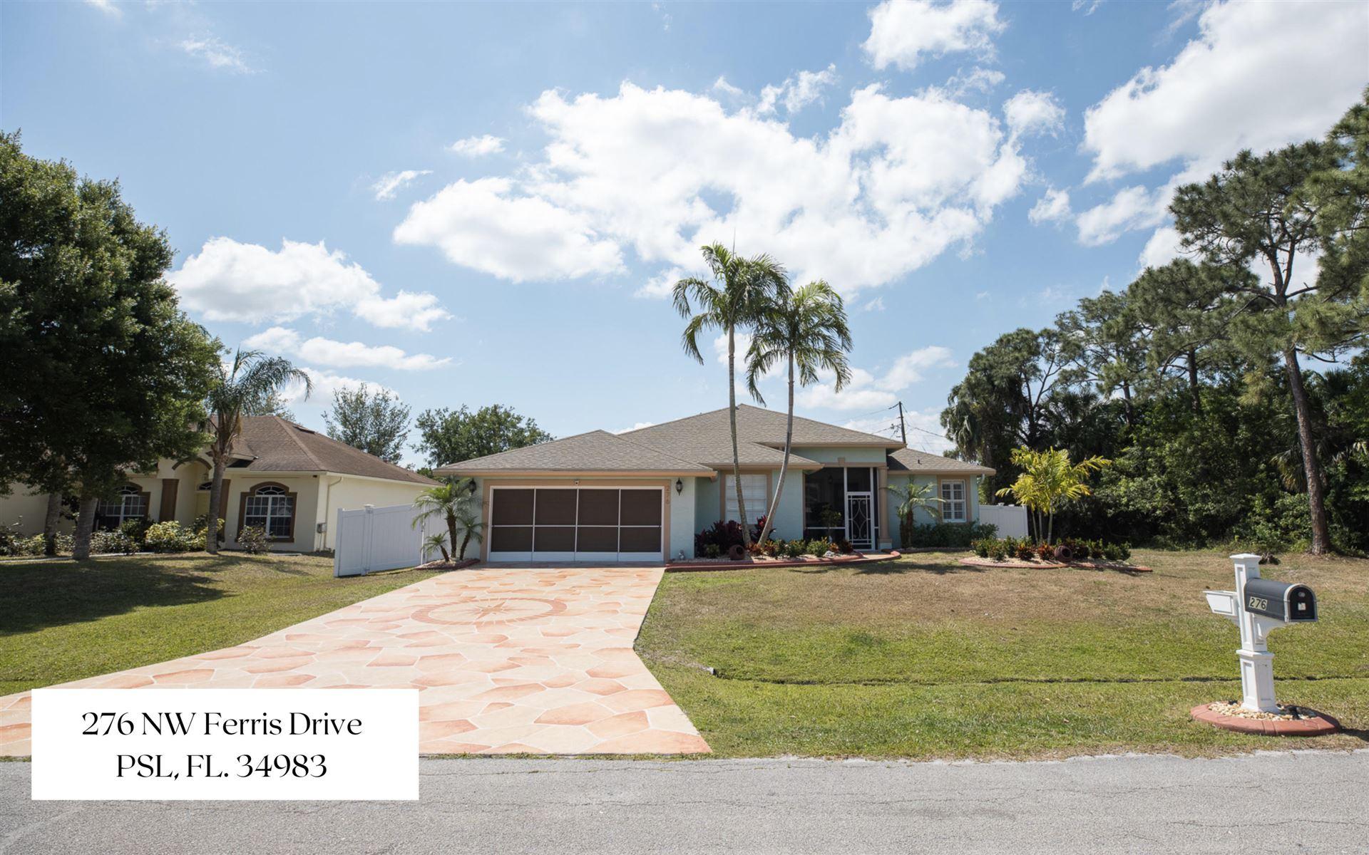 276 NW Ferris Drive, Port Saint Lucie, FL 34983 - #: RX-10706861