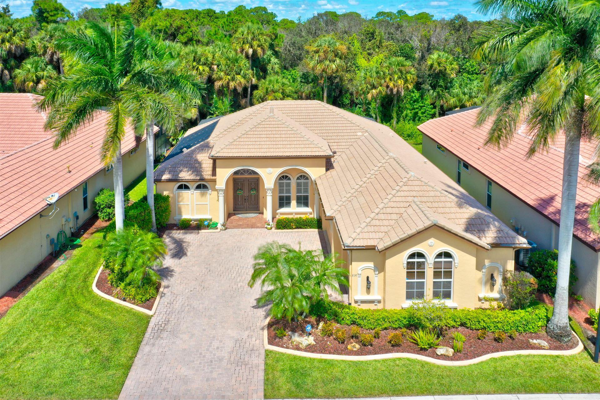 830 SW Grand Reserves Boulevard, Port Saint Lucie, FL 34986 - #: RX-10749864