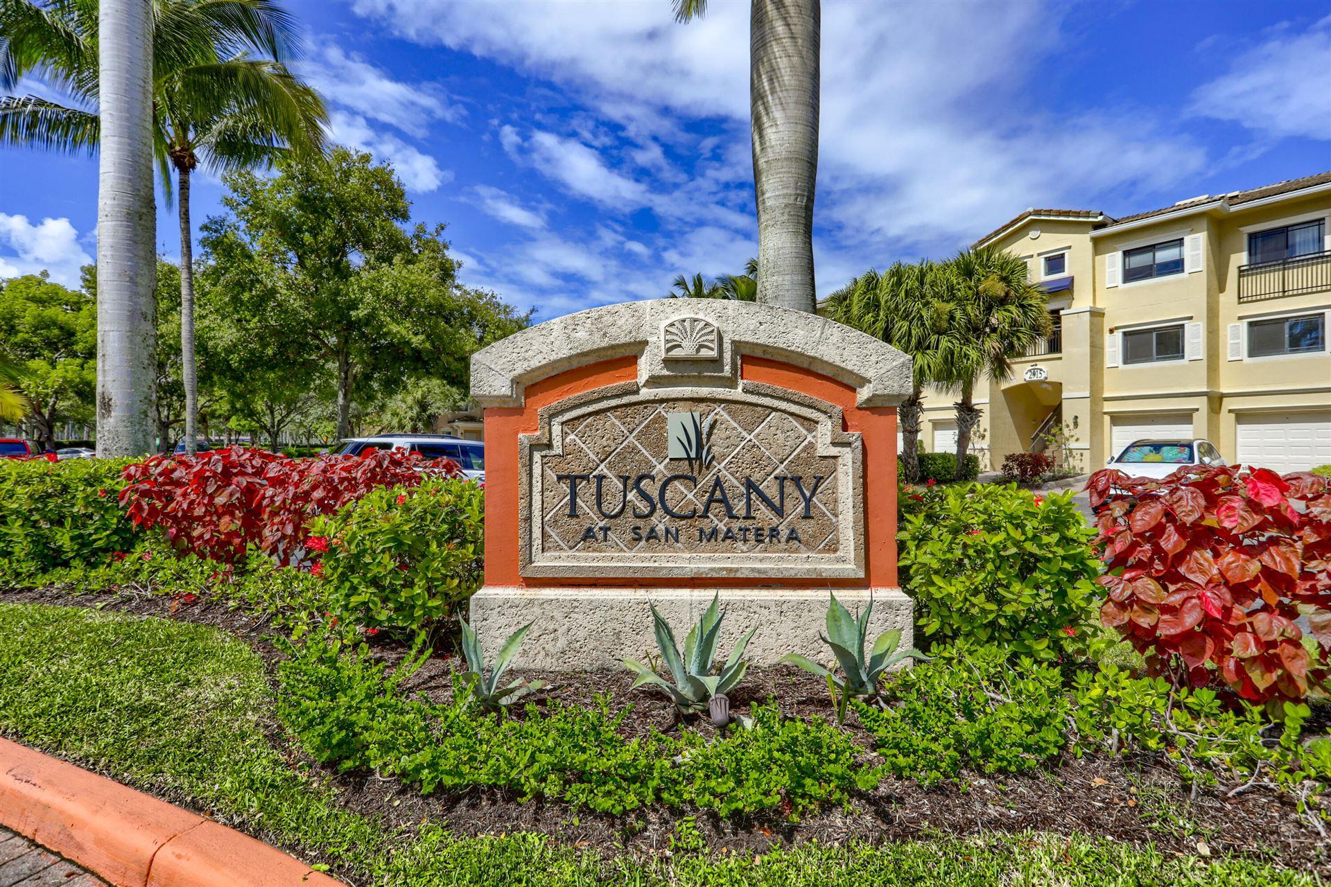 Photo for 2916 Tuscany Court #114, Palm Beach Gardens, FL 33410 (MLS # RX-10751865)
