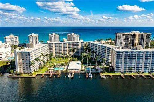 Photo of 3300 S Ocean Boulevard #420-C, Highland Beach, FL 33487 (MLS # RX-10739866)