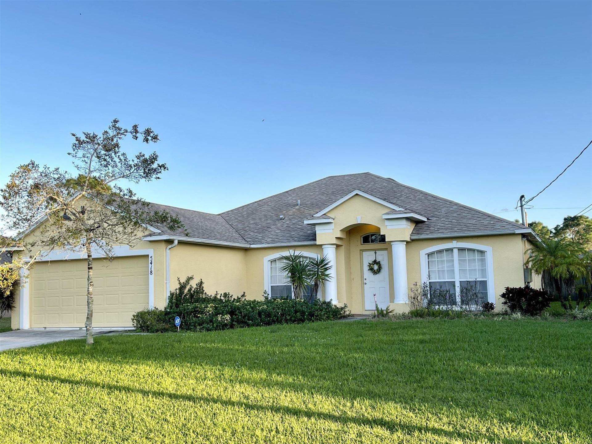5418 NW Bolin Street, Port Saint Lucie, FL 34986 - #: RX-10673867