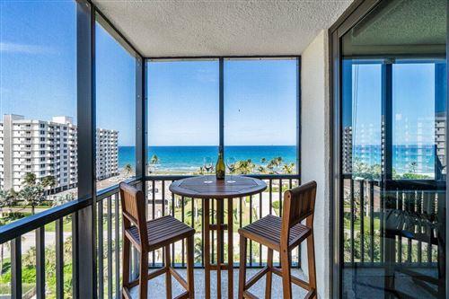 Photo of 3400 S Ocean Boulevard #9g, Highland Beach, FL 33487 (MLS # RX-10715868)