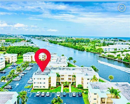 Photo of 3 Colonial Club Drive #300, Boynton Beach, FL 33435 (MLS # RX-10754868)