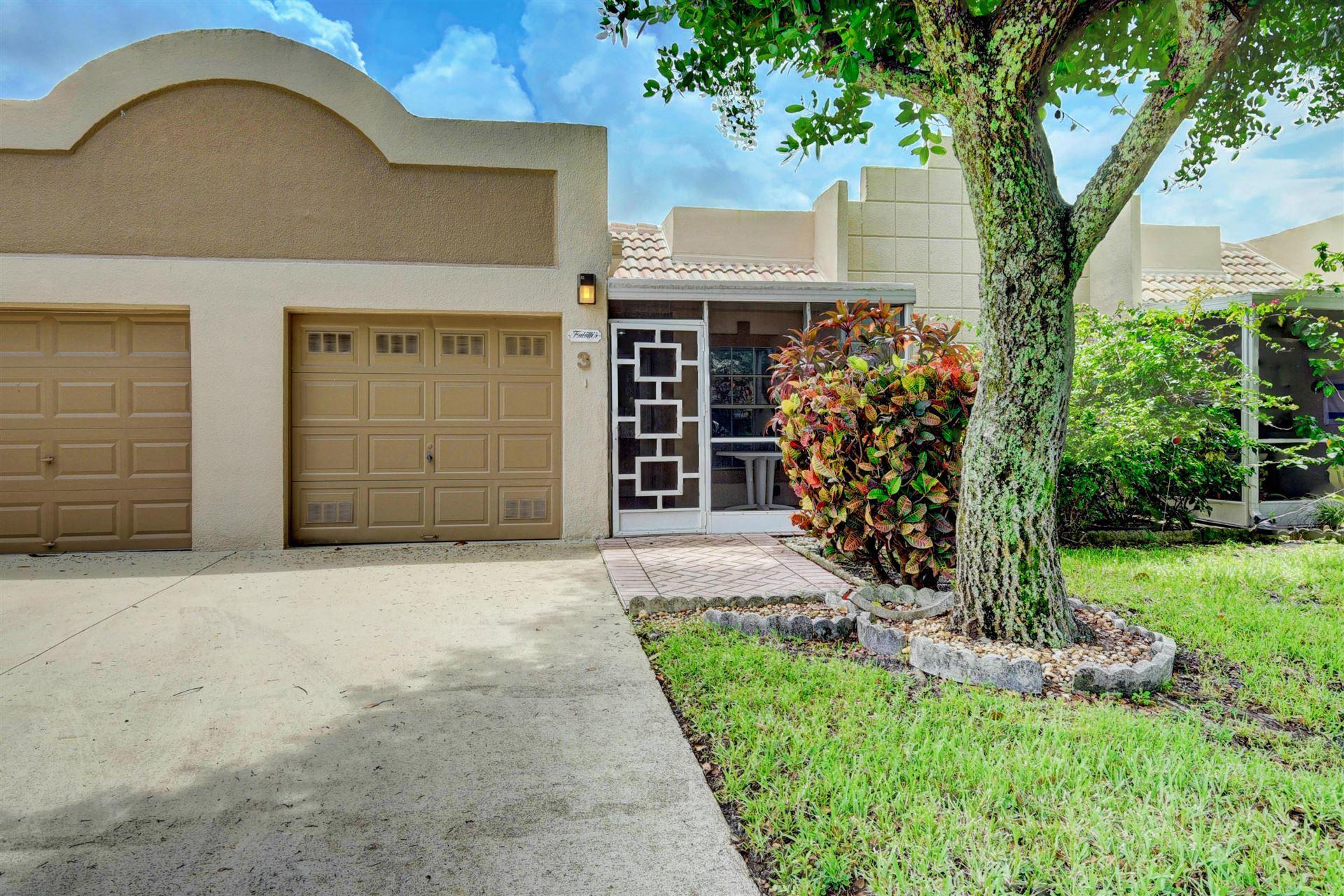 18900 Stewart Circle #3, Boca Raton, FL 33496 - #: RX-10610869