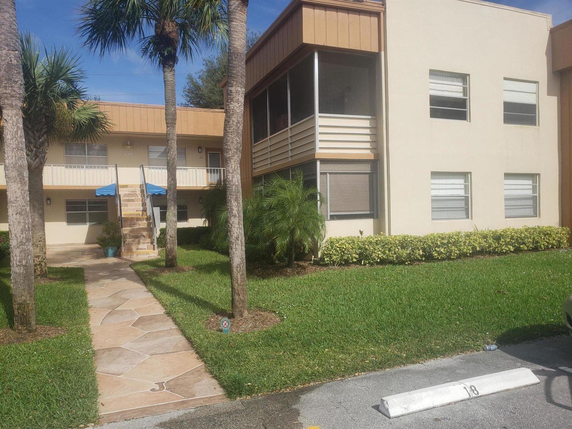 443 Normandy J Lane #443, Delray Beach, FL 33484 - MLS#: RX-10698871