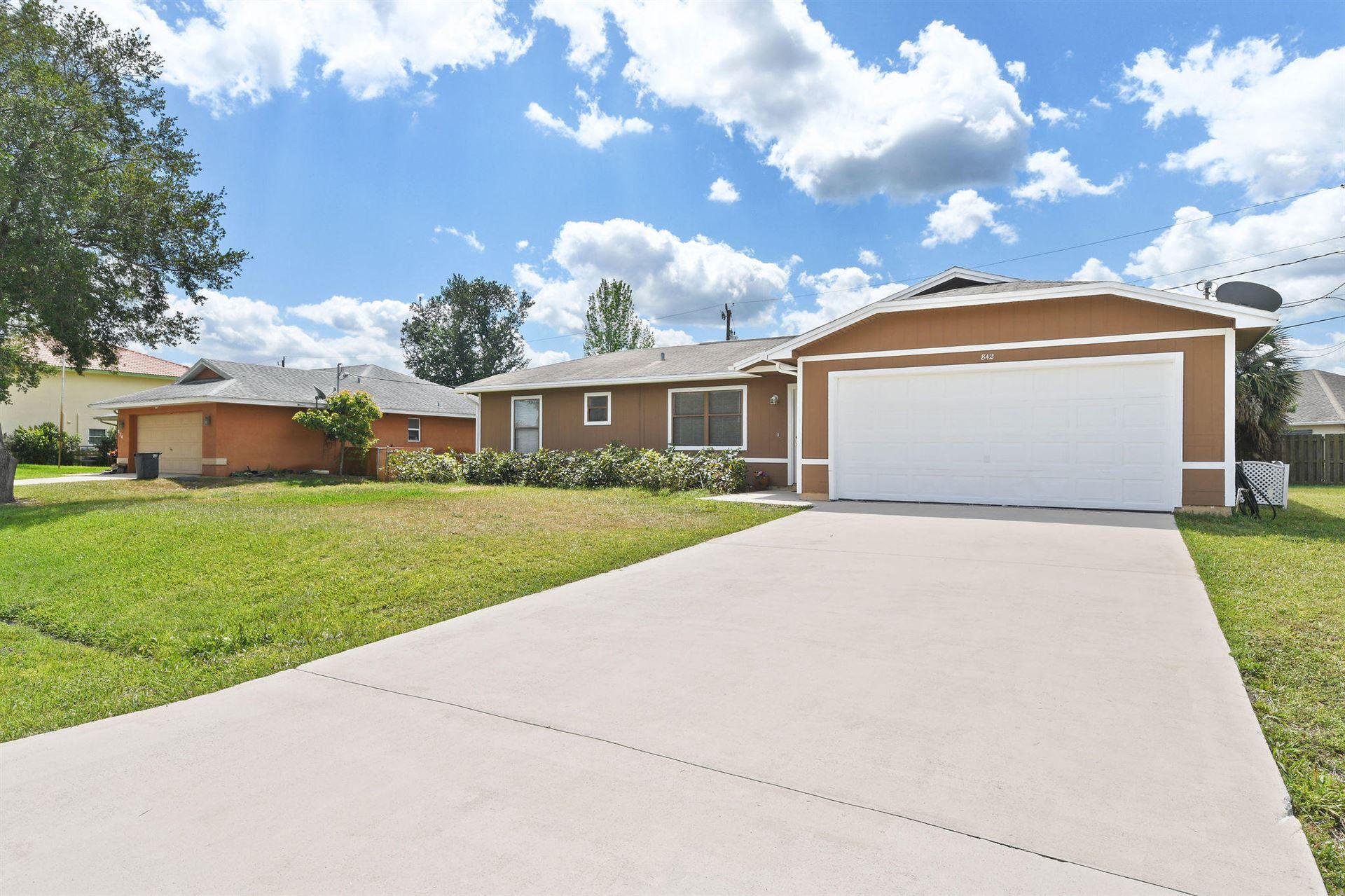 842 SW Koler Avenue, Port Saint Lucie, FL 34953 - #: RX-10705872