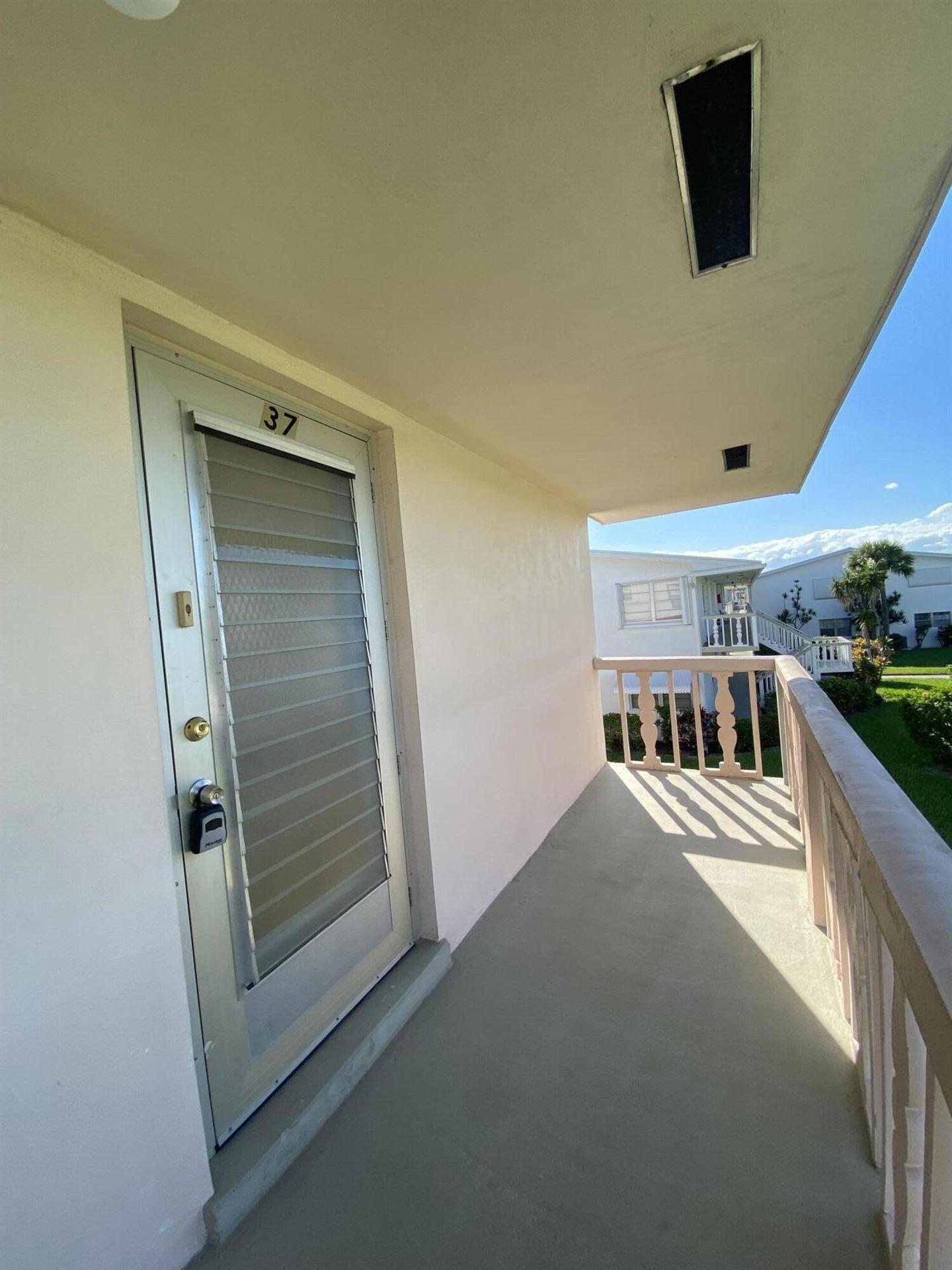 37 Norwich B, West Palm Beach, FL 33417 - MLS#: RX-10749872