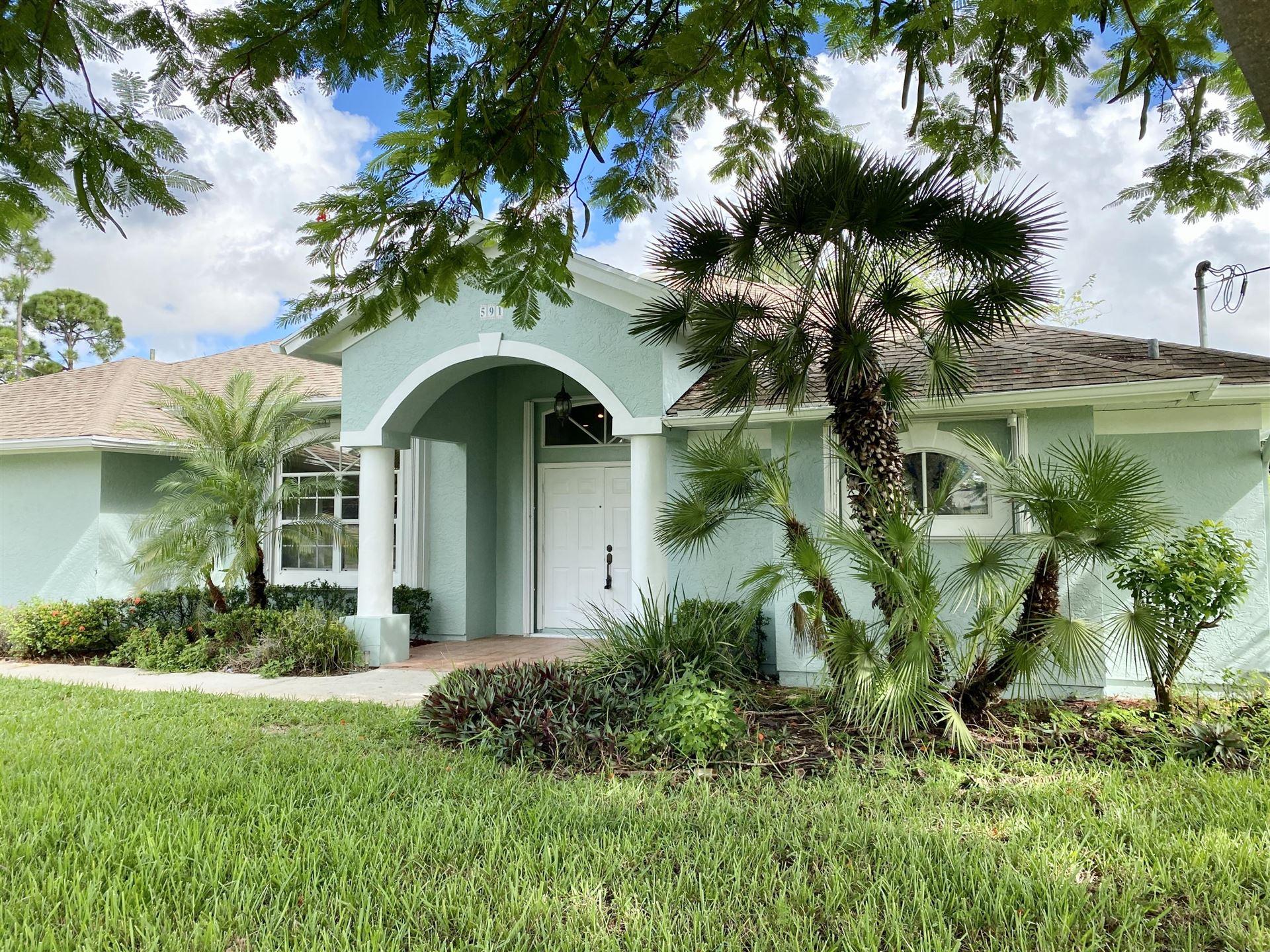 591 SW Todd Avenue, Port Saint Lucie, FL 34983 - #: RX-10654873