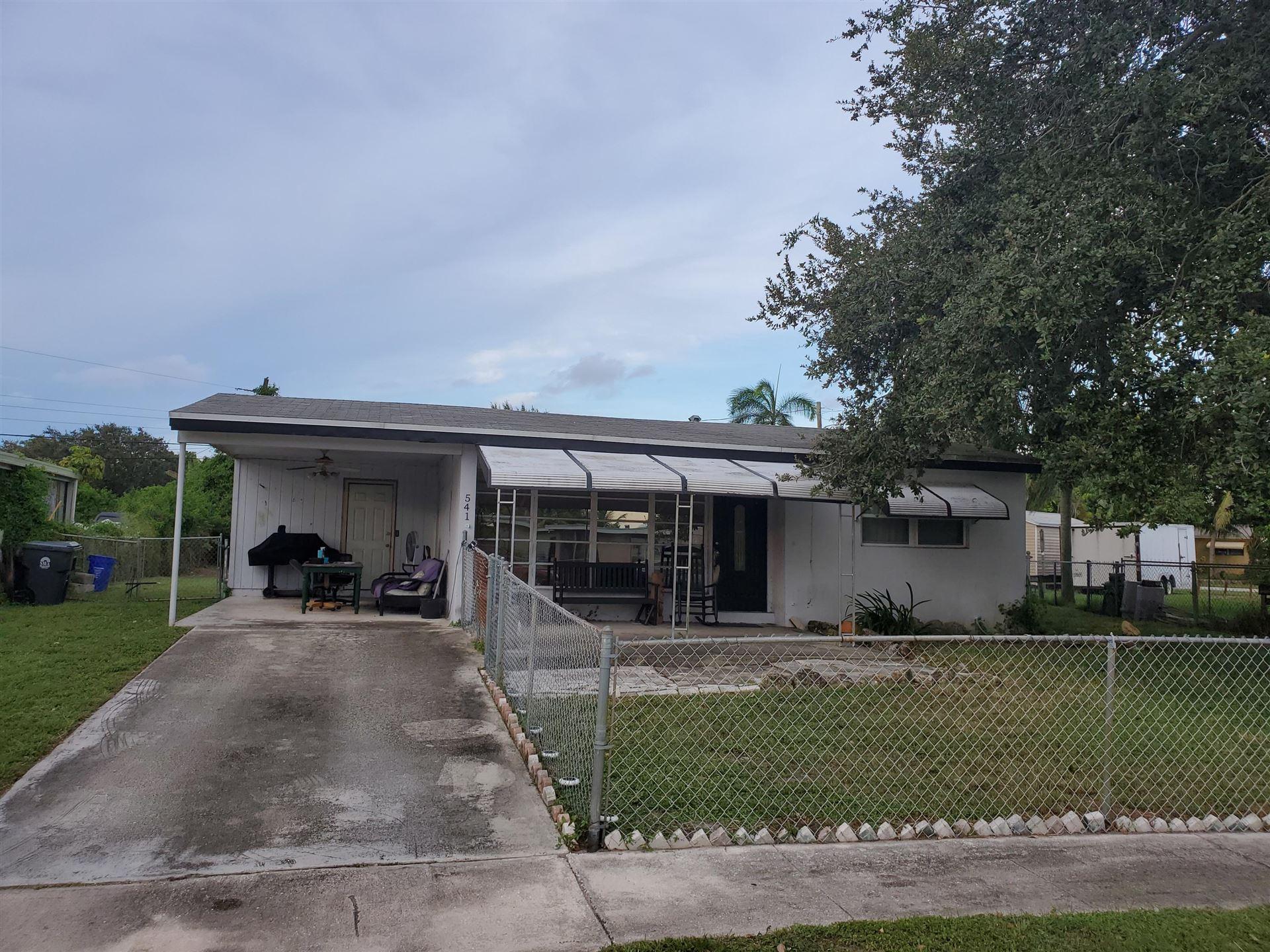541 Sioux Road, Lake Worth, FL 33462 - #: RX-10655875