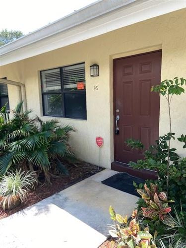 Photo of 1455 Holly Heights Drive #45, Fort Lauderdale, FL 33304 (MLS # RX-10619877)