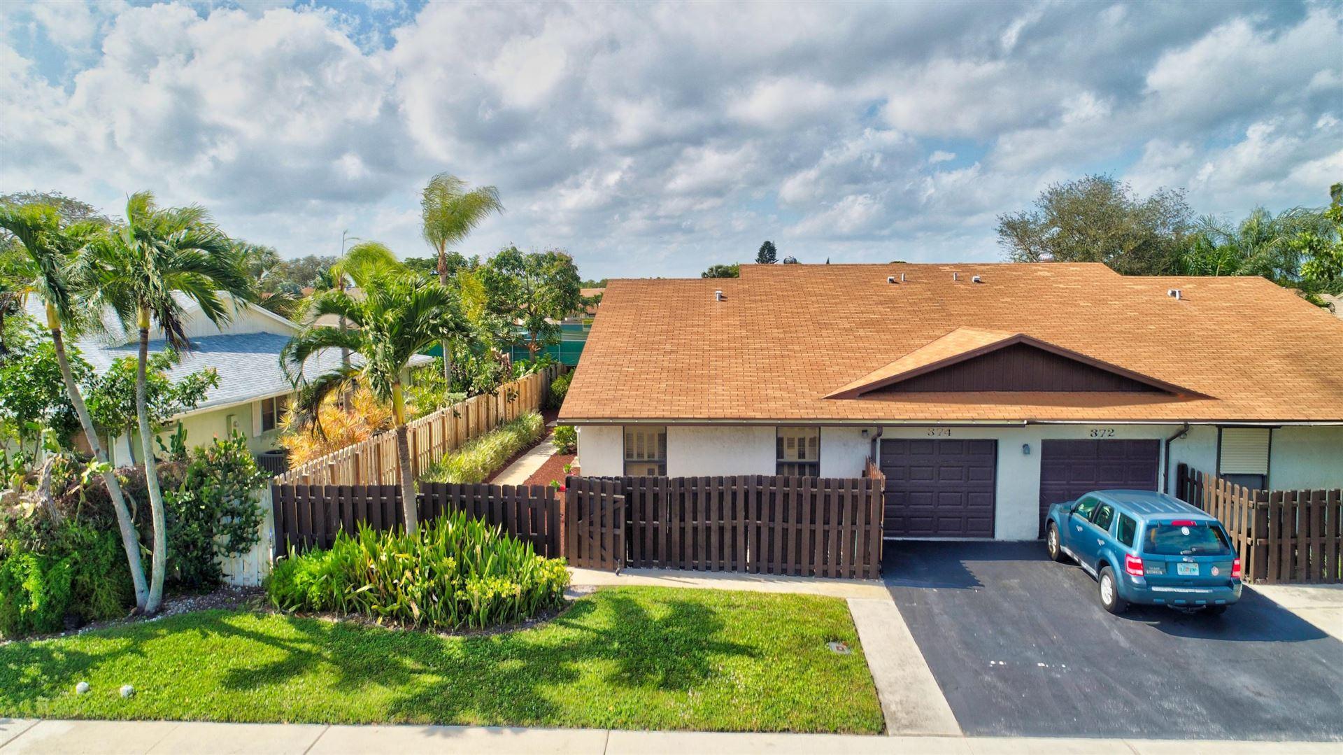 374 SW 27th Avenue #, Delray Beach, FL 33445 - #: RX-10597877