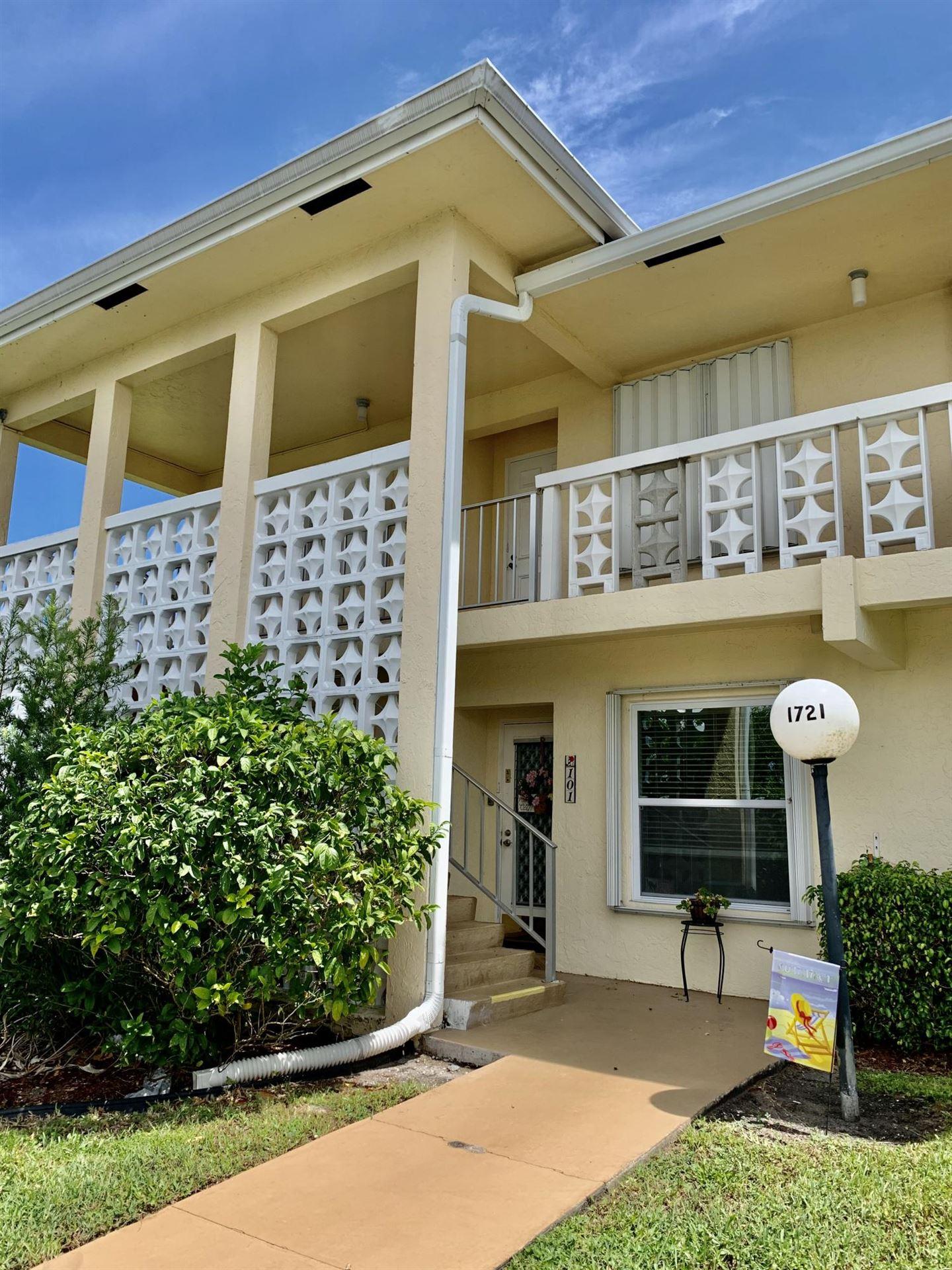 1721 NW 20th Avenue #101, Delray Beach, FL 33445 - #: RX-10651878