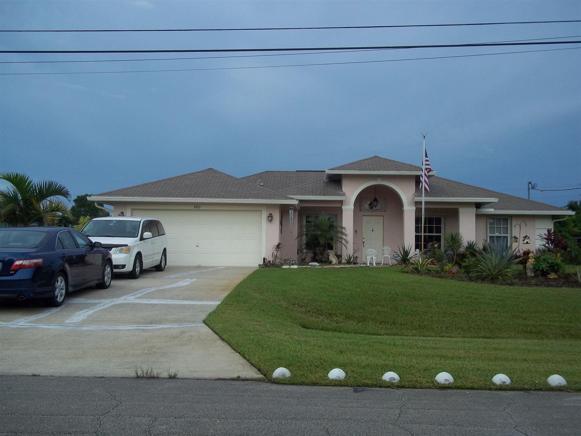 360 SW Ridgecrest Drive, Port Saint Lucie, FL 34953 - #: RX-10743878