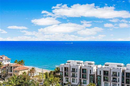 Photo of 3700 S Ocean Boulevard #1109, Highland Beach, FL 33487 (MLS # RX-10599879)