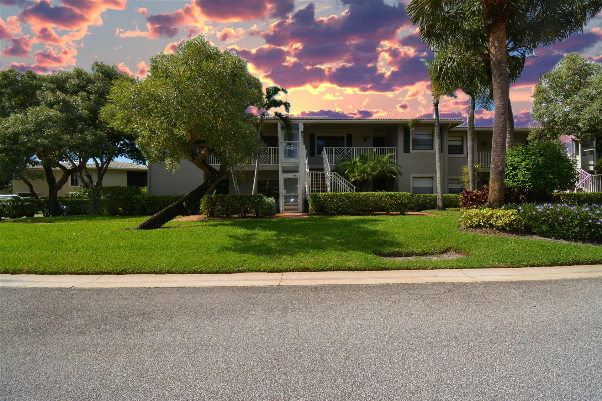 48 Stratford Lane #48b, Boynton Beach, FL 33436 - #: RX-10664880