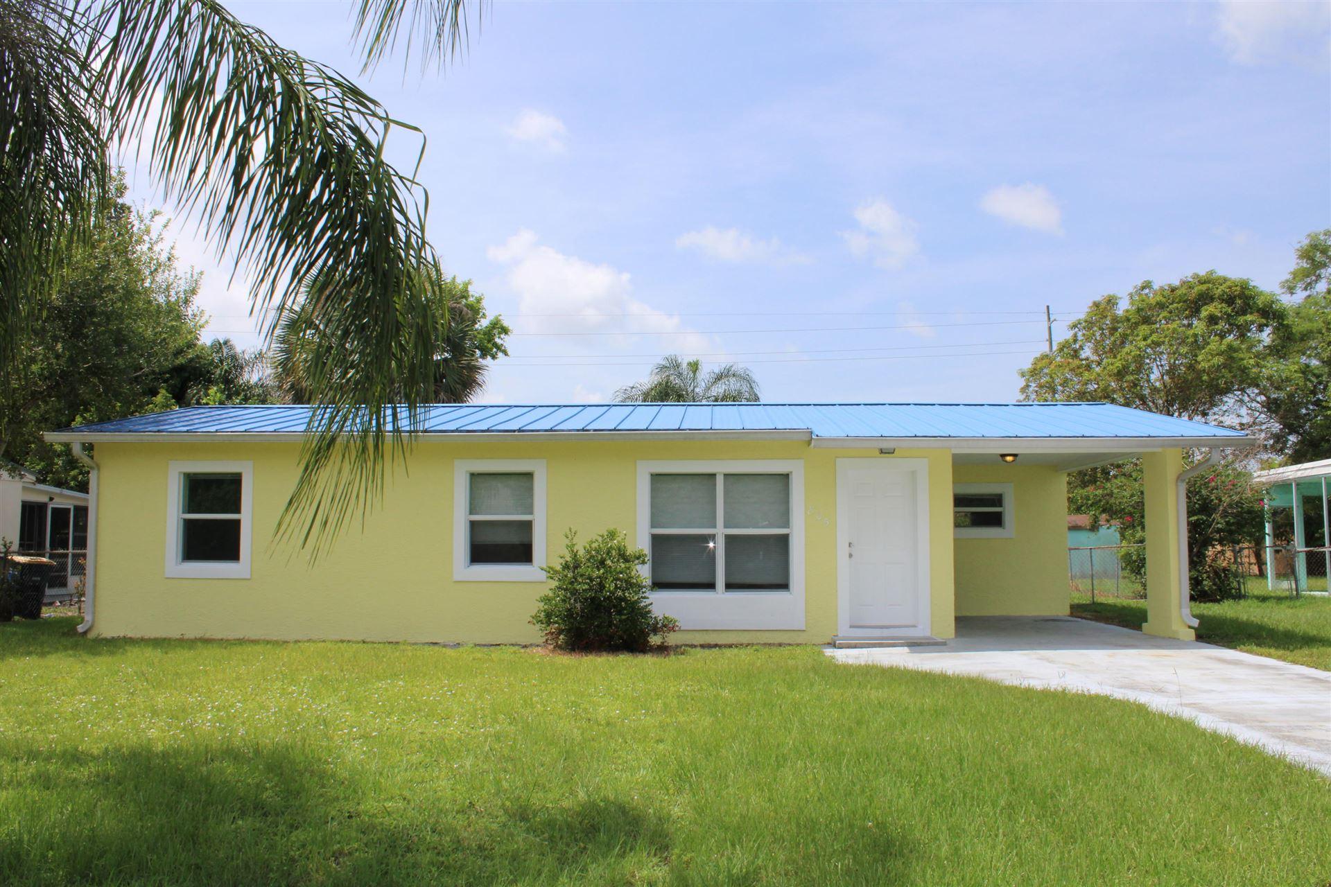 805 Wisteria Avenue, Fort Pierce, FL 34982 - #: RX-10637881