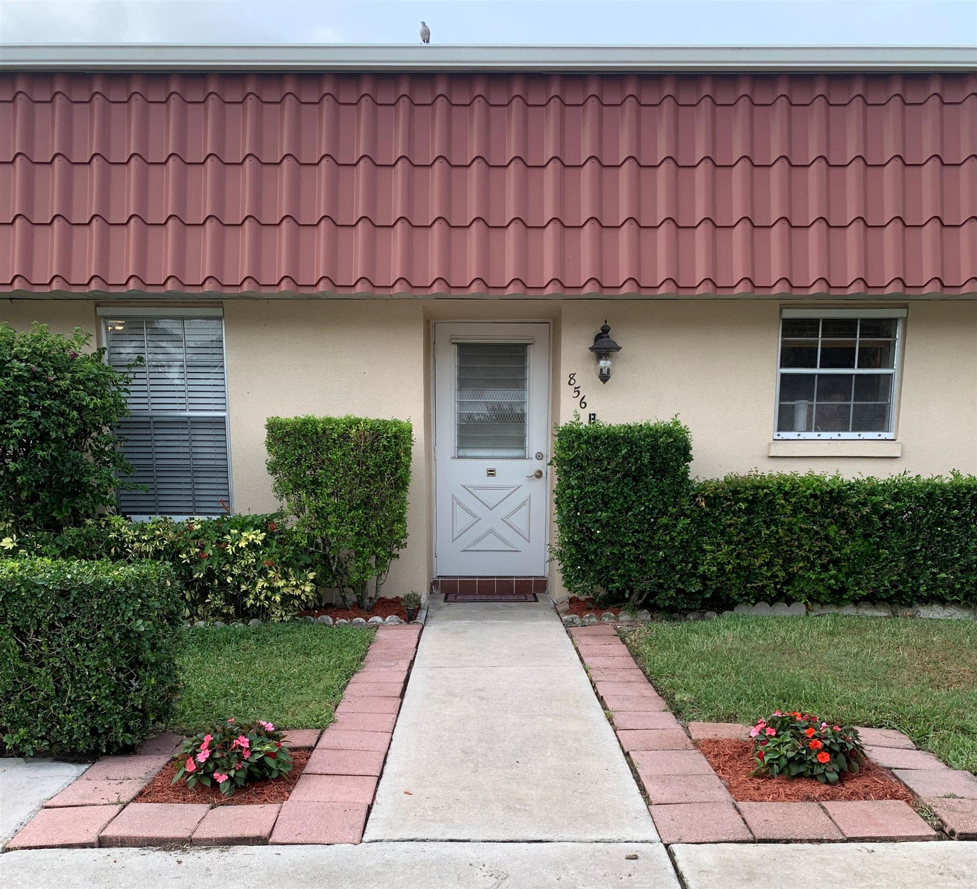 856 Salem Lane #B, Lake Worth, FL 33467 - MLS#: RX-10741881