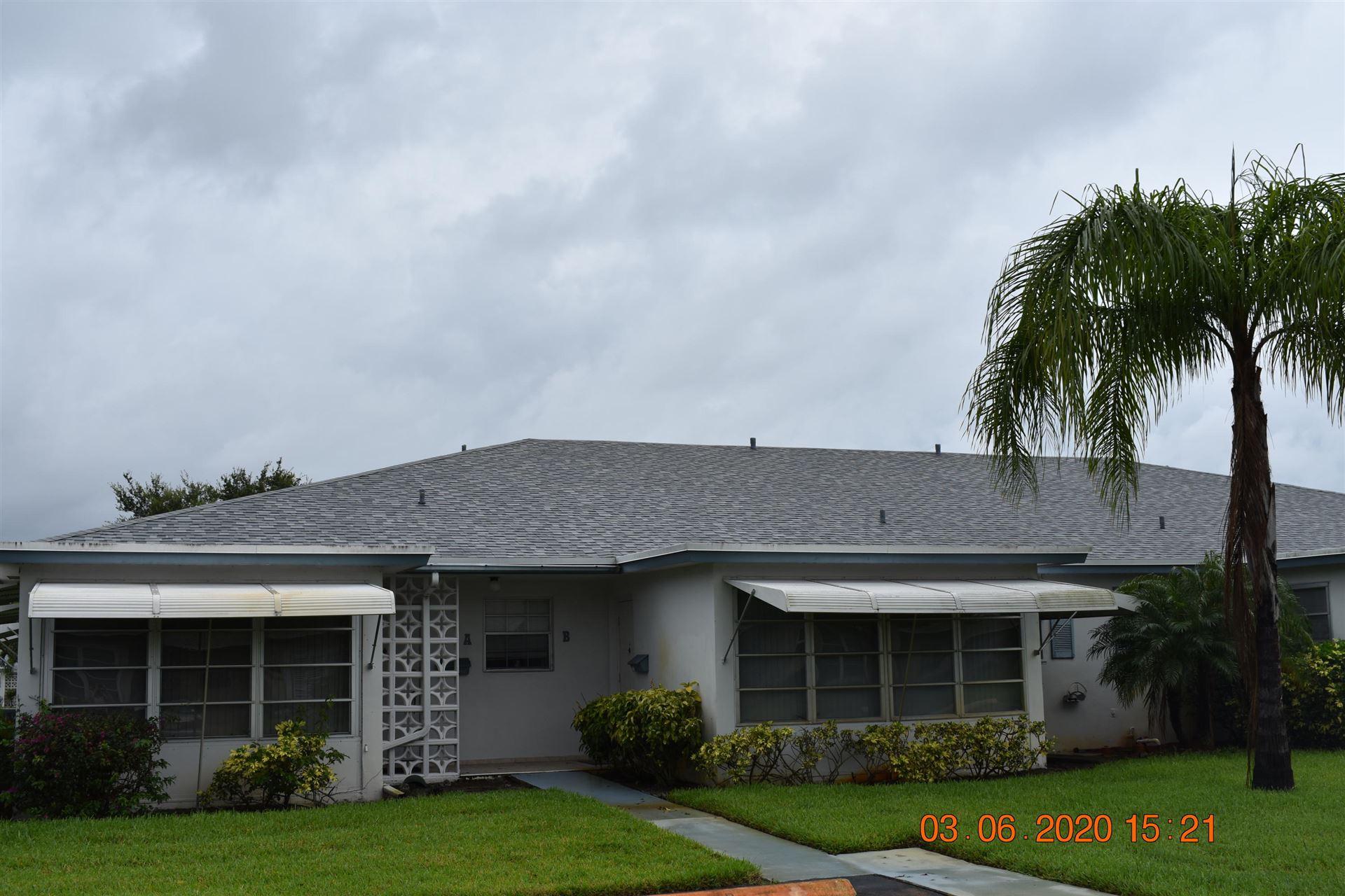 1160 Circle Drive #B, Delray Beach, FL 33445 - #: RX-10627884