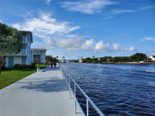 Tiny photo for 740 Horizons W #203, Boynton Beach, FL 33435 (MLS # RX-10624885)