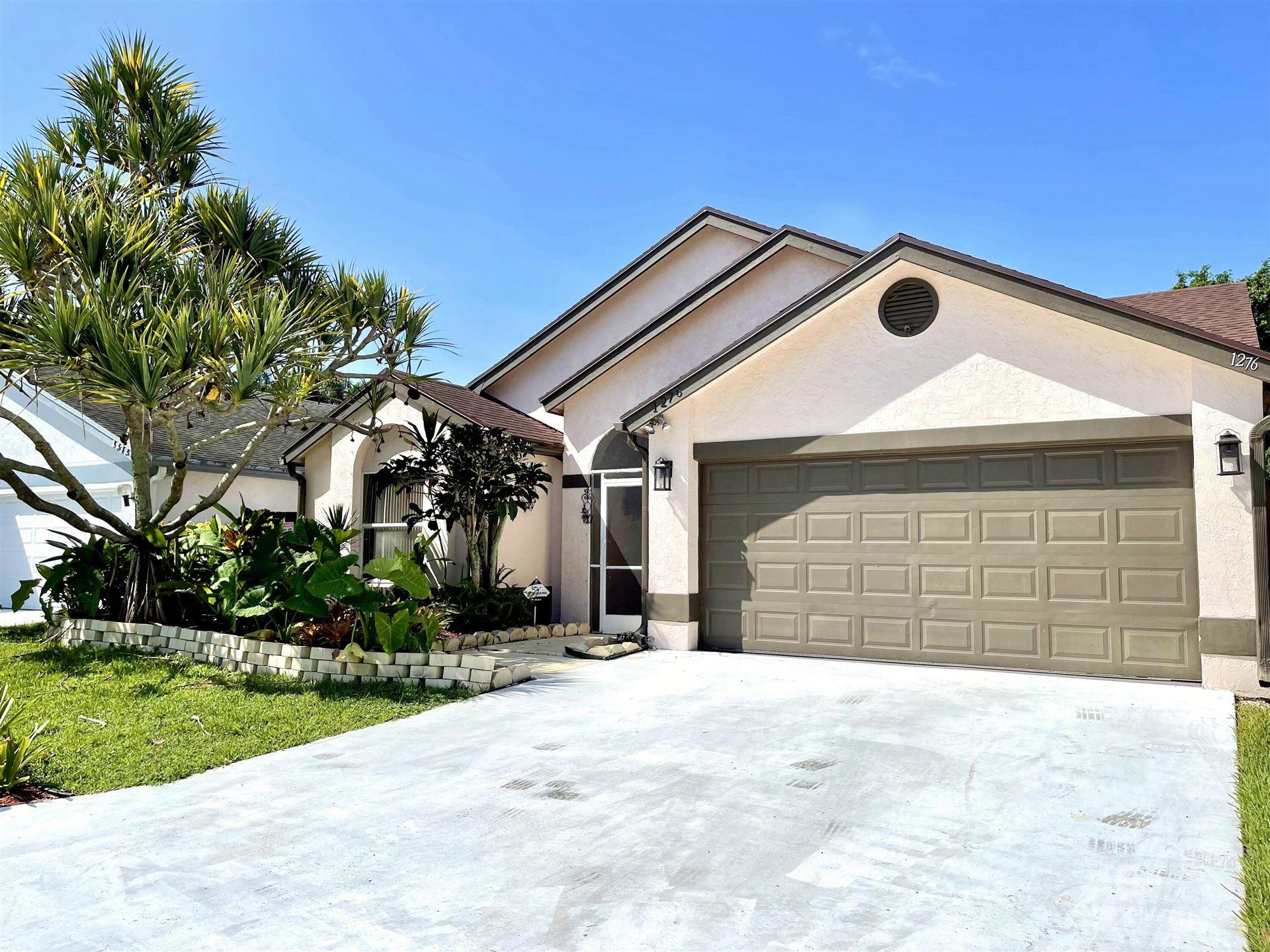 1276 Waterway Cove Drive, Wellington, FL 33414 - #: RX-10746885